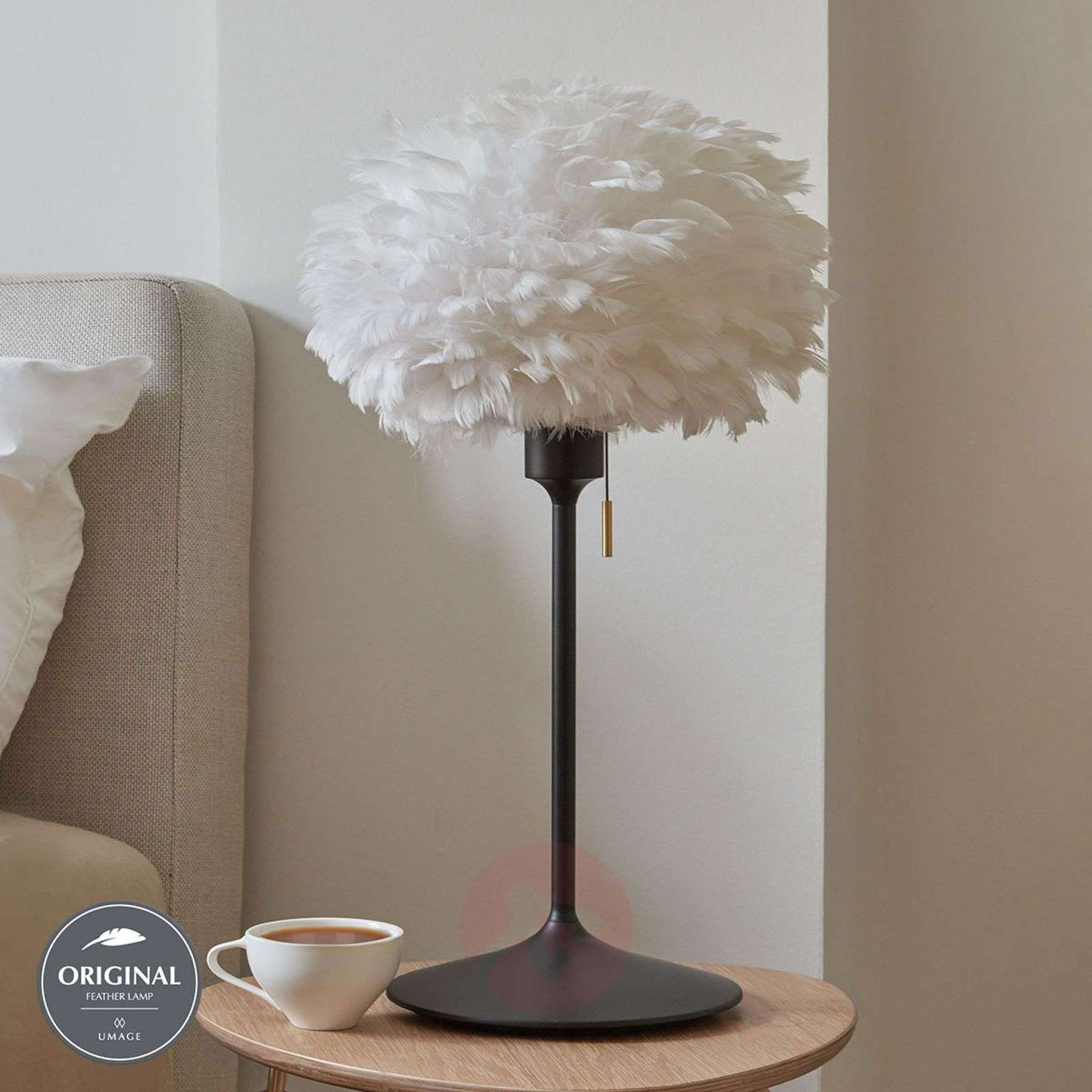 UMAGE Eos mini pöytälamppu valk. Champagne musta-9521226-01