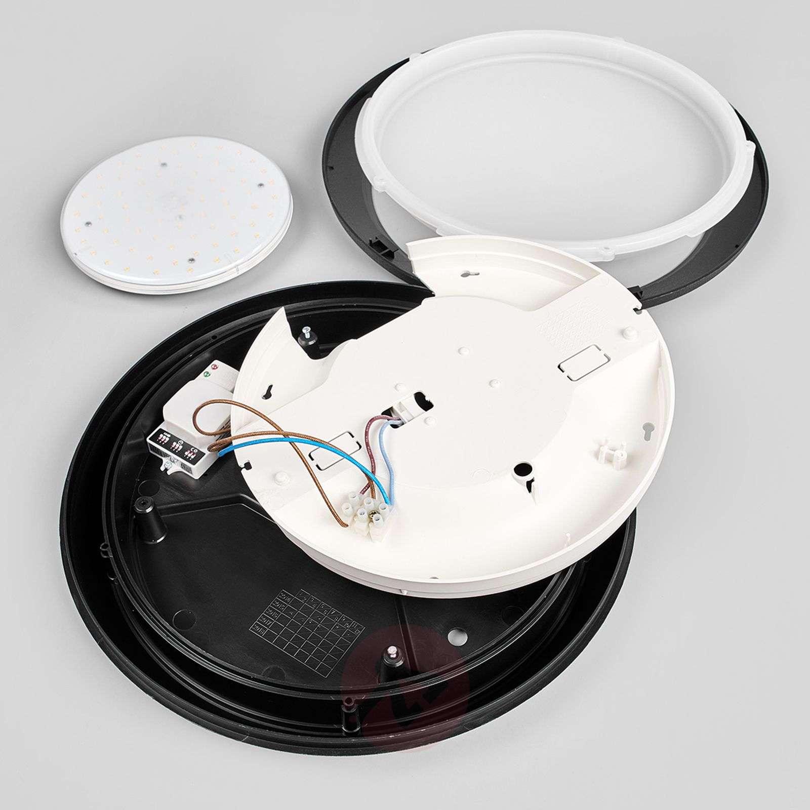 Umberta-sensori-kattovalaisin, musta 11 W 3000 K-3538056-05