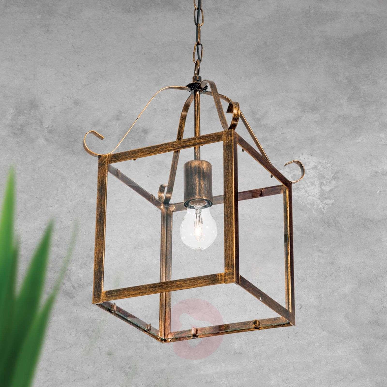Upea FALOTTA-riippuvalaisin, kulmikas, 1-lamp.-7253852-01