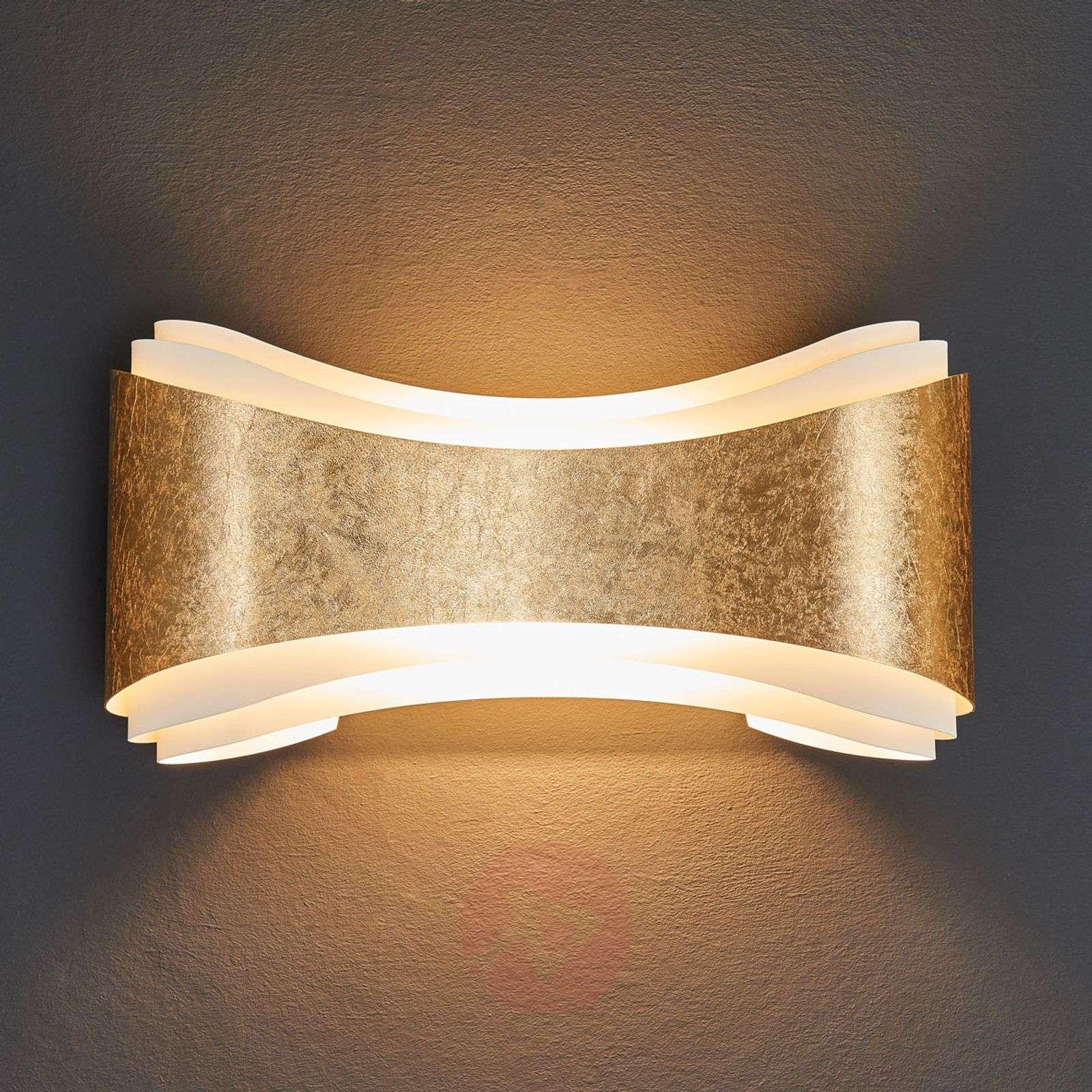 Upea Ionica-design-seinävalaisin, kultaraita-8525691-01