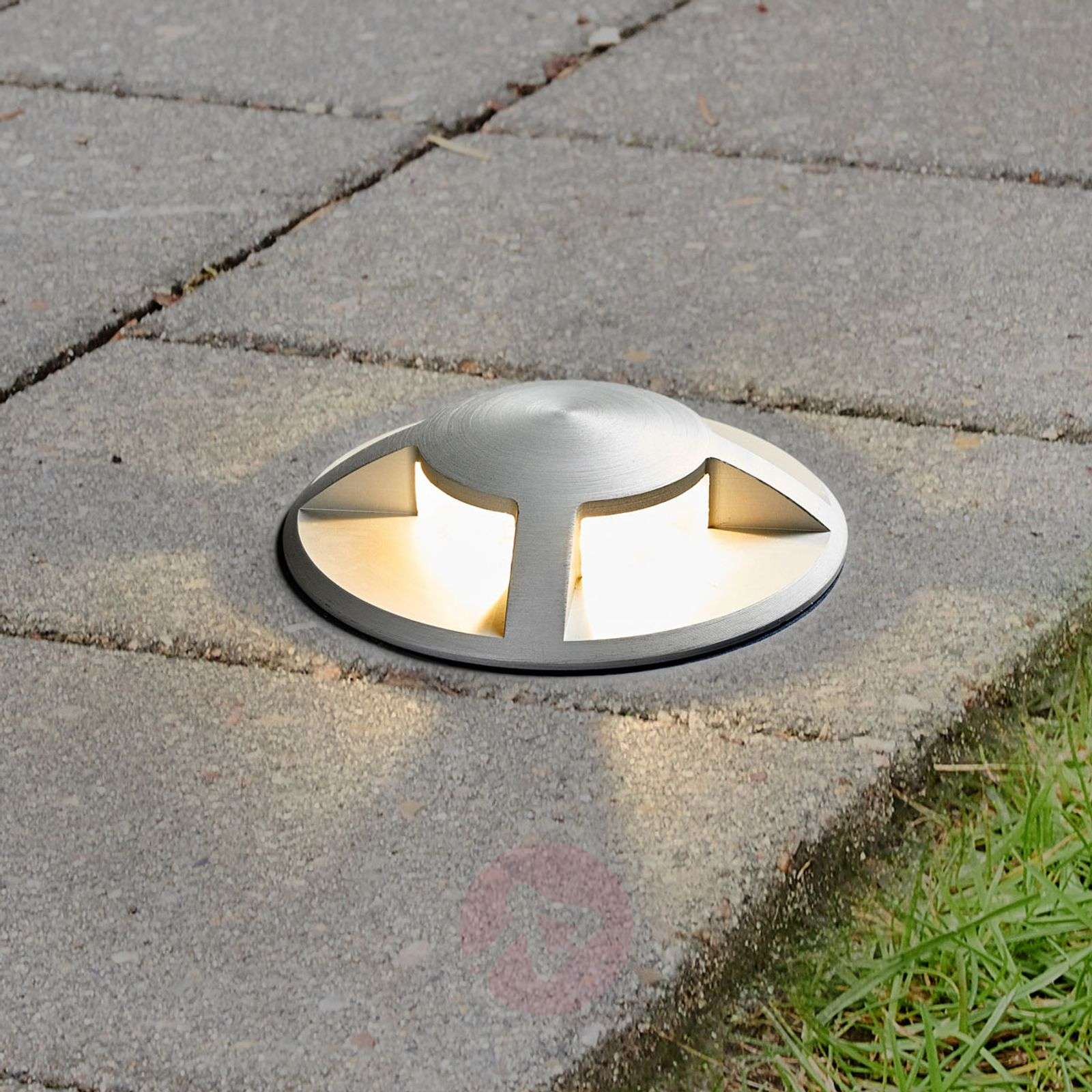 Upotettava LED-maakohdevalaisin Anina alumiinia-9969059-02
