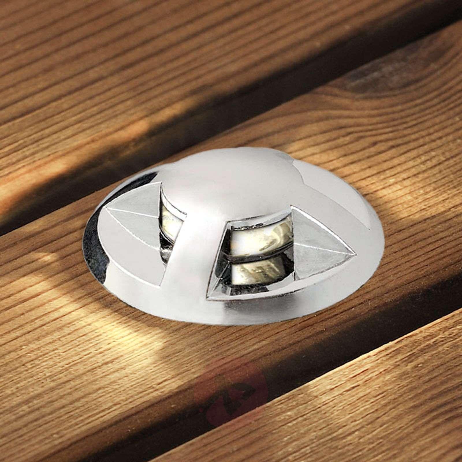 Upotettava LED-maakohdevalaisin Mini 6kpl kaareva-5522567-01