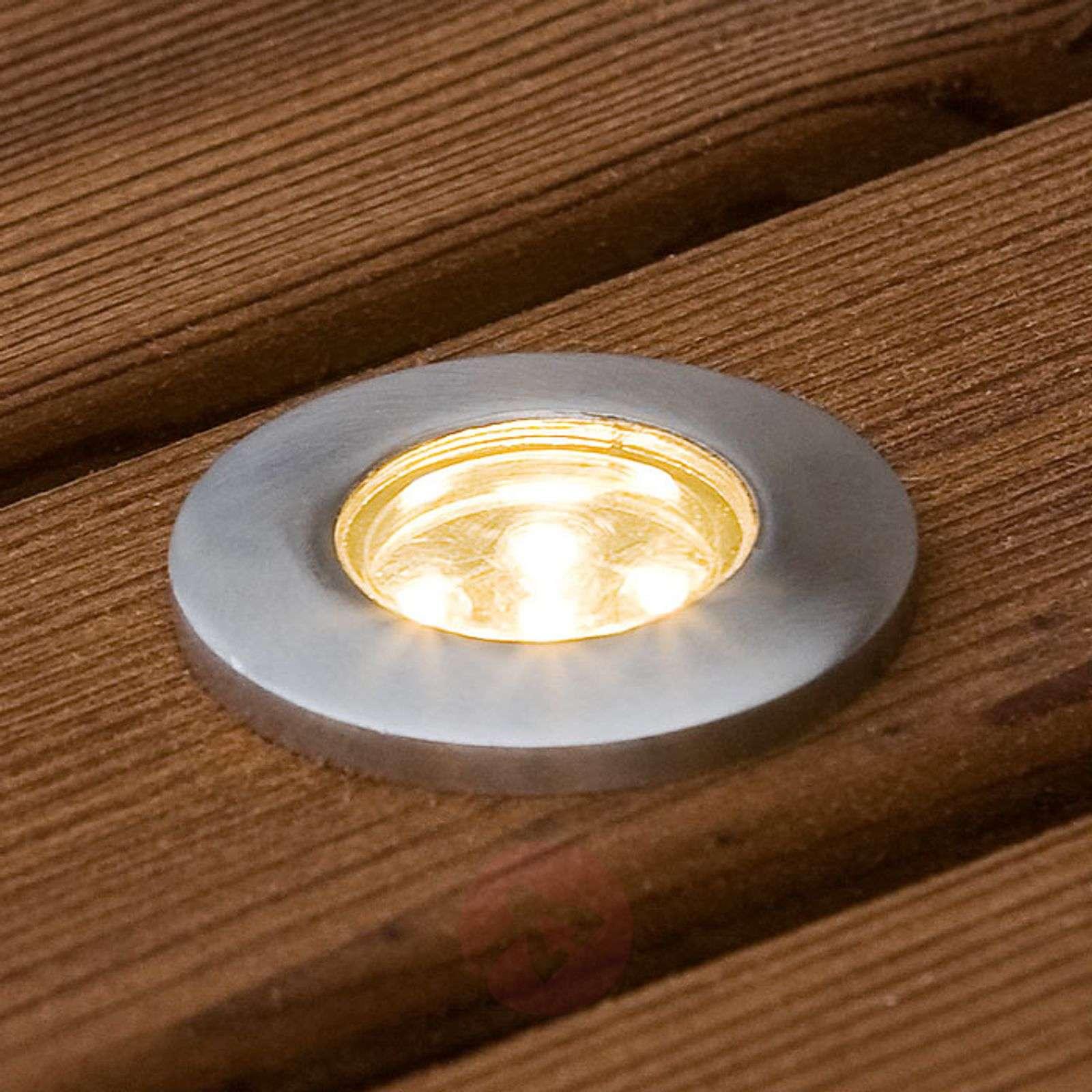 Upotettava mini-LED-maakohdevalaisin 6kpl litteä-5522566-01