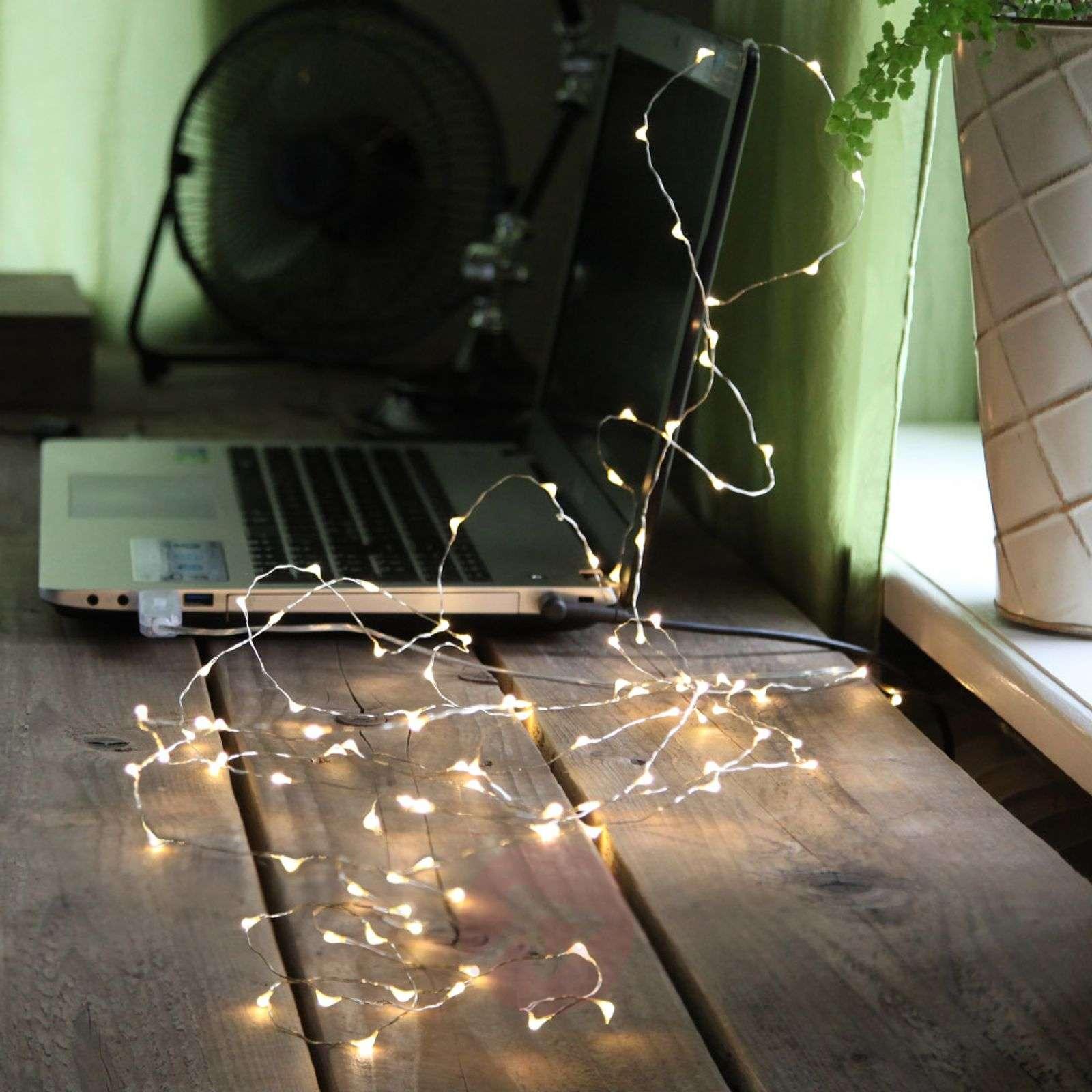 USB-liitännällä LED-valoketju Dew Drop-1523403-01