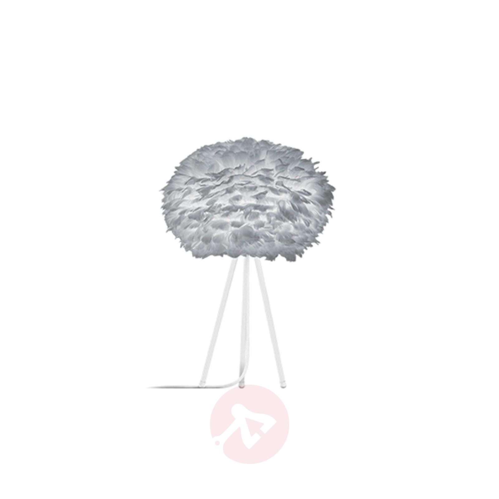 Vaaleanharmaa varjostin – pöytävalaisin Eos medium-9521143-01