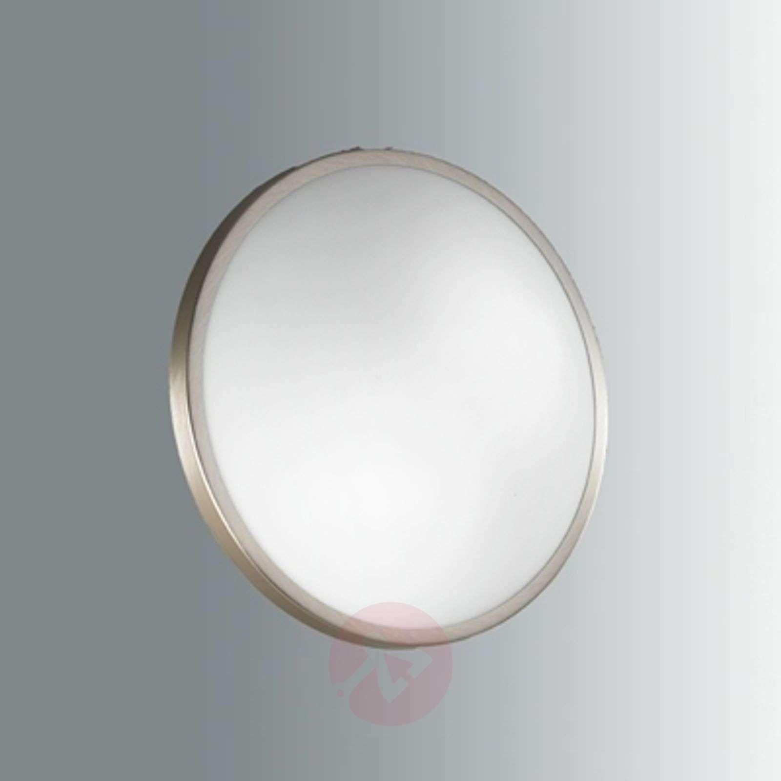 Vähäeleinen PLAZA-LED-kattovalaisin, nikkeli-3502316-01