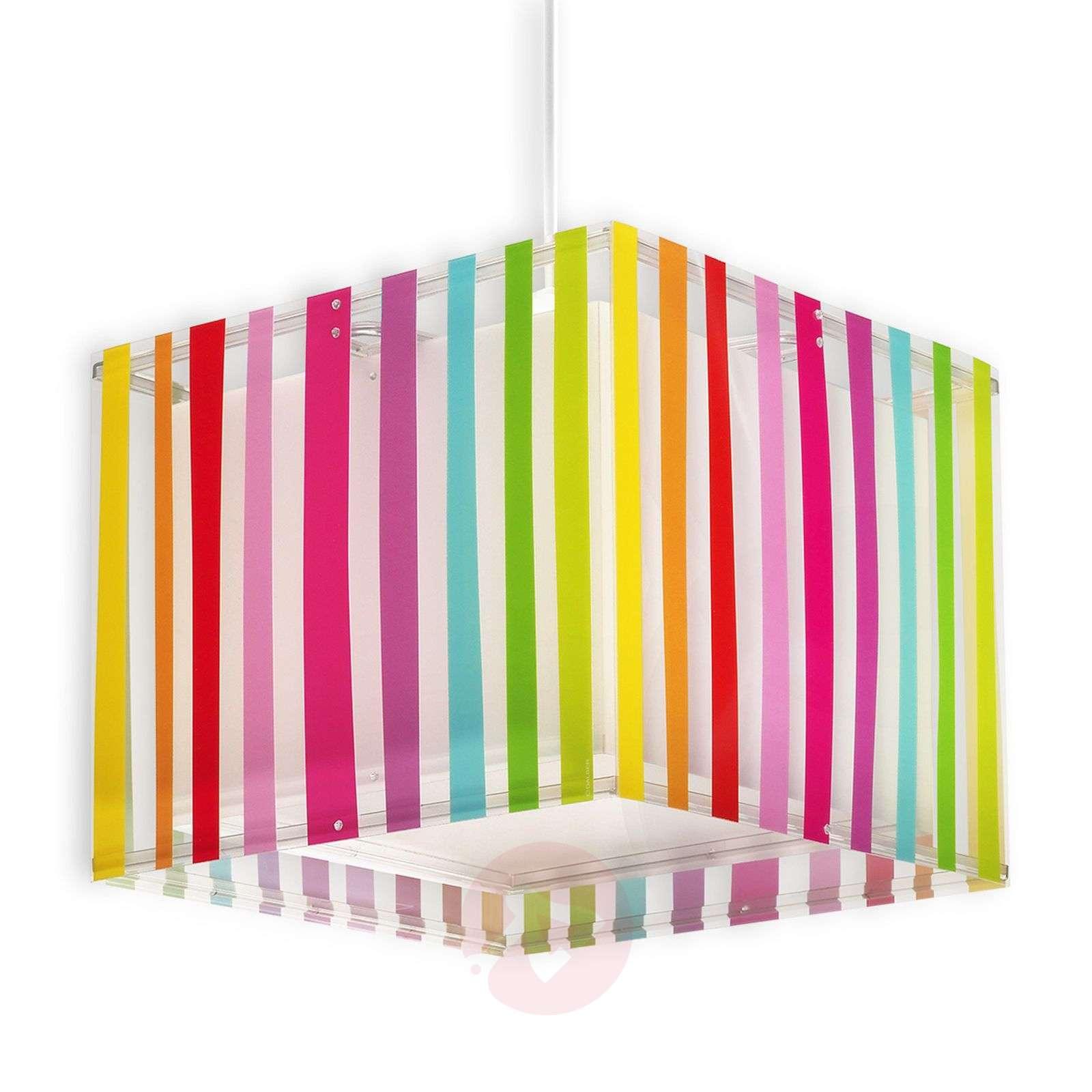 Värikäs lastenhuoneen riippuvalaisin Decoline-2507332-01