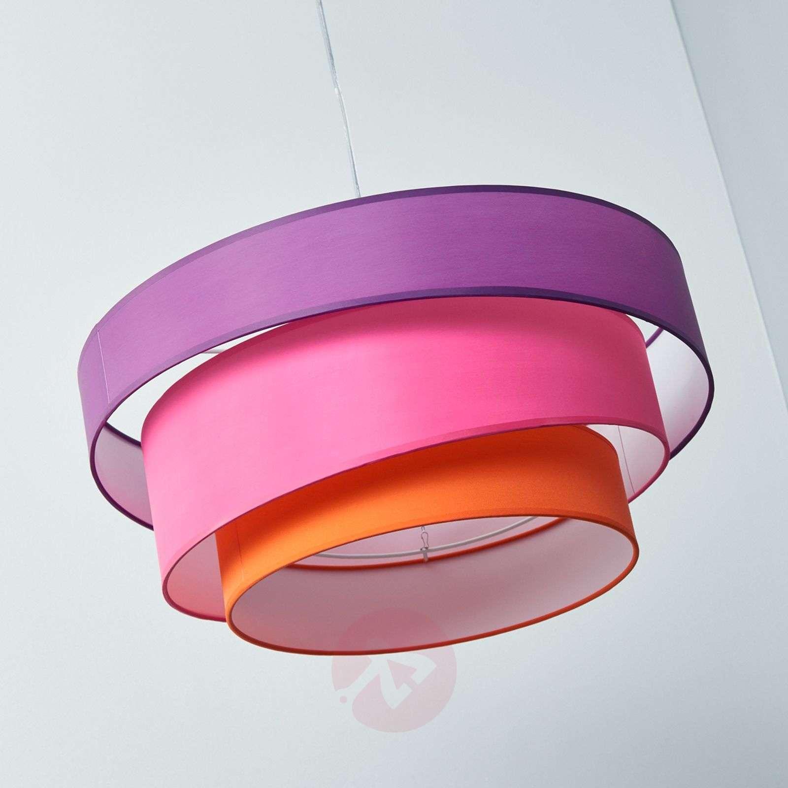 Värikäs Melia-riippuvalaisin, violetti, pinkki-9639034-01