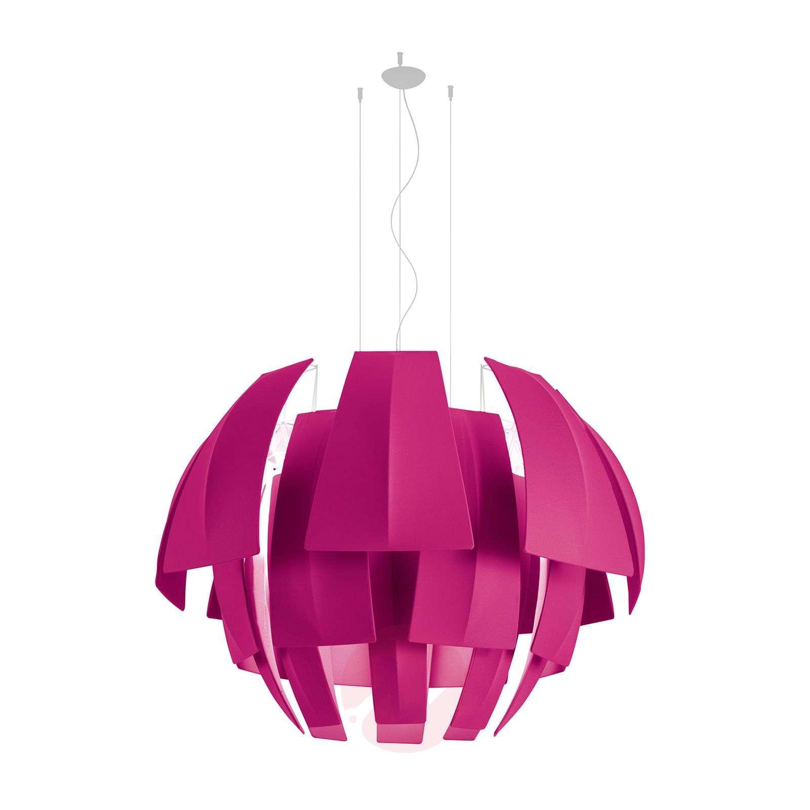 Värikäs Plumage-riippuvalaisin, fuksia-1088065-01