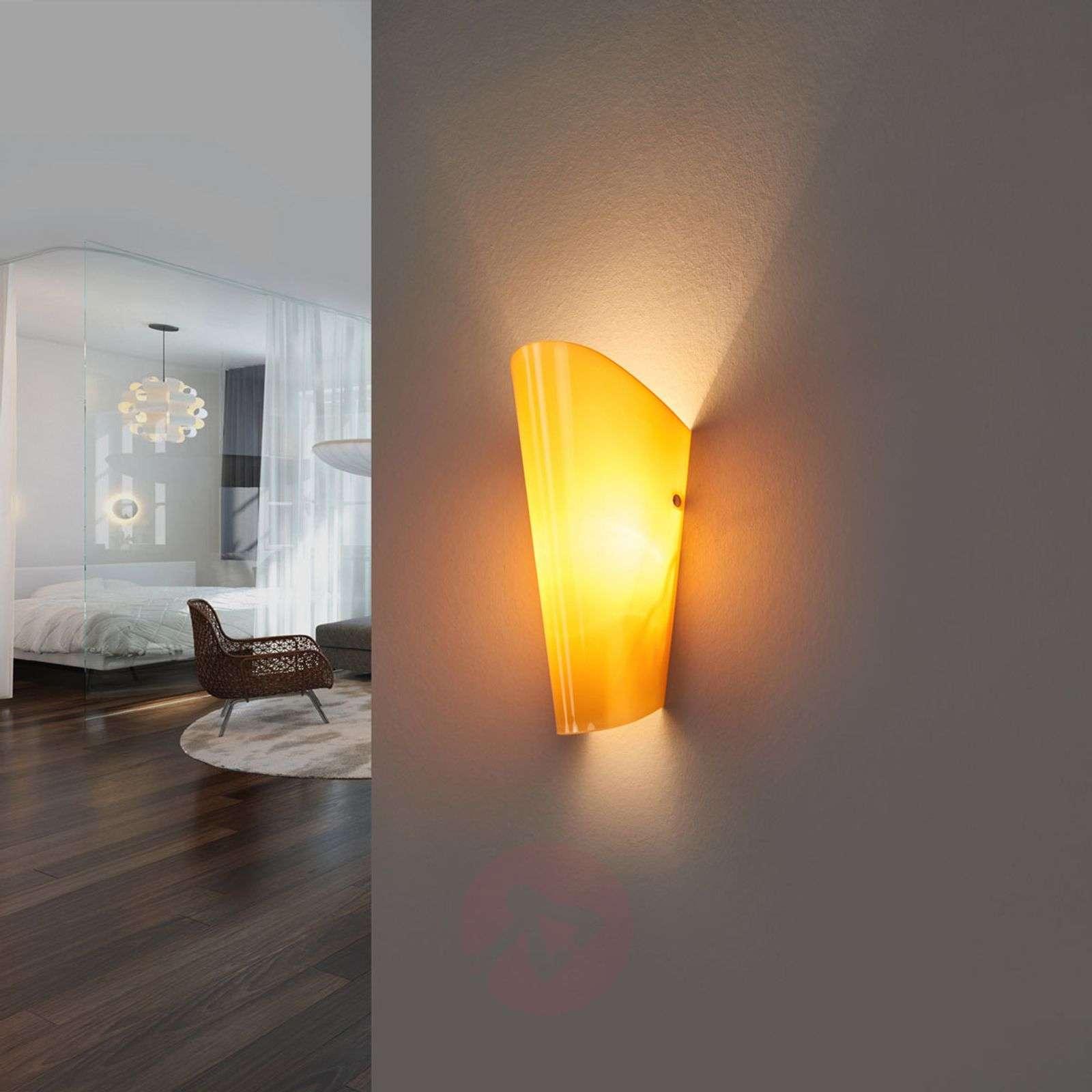 Värillinen lasista valmistettu Bloom-seinävalaisin-8525585X-08