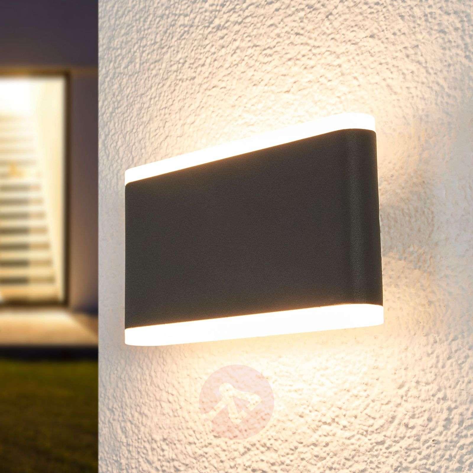 Vaiana – LED-ulkoseinälamppu, tummanharmaa-9955038-03