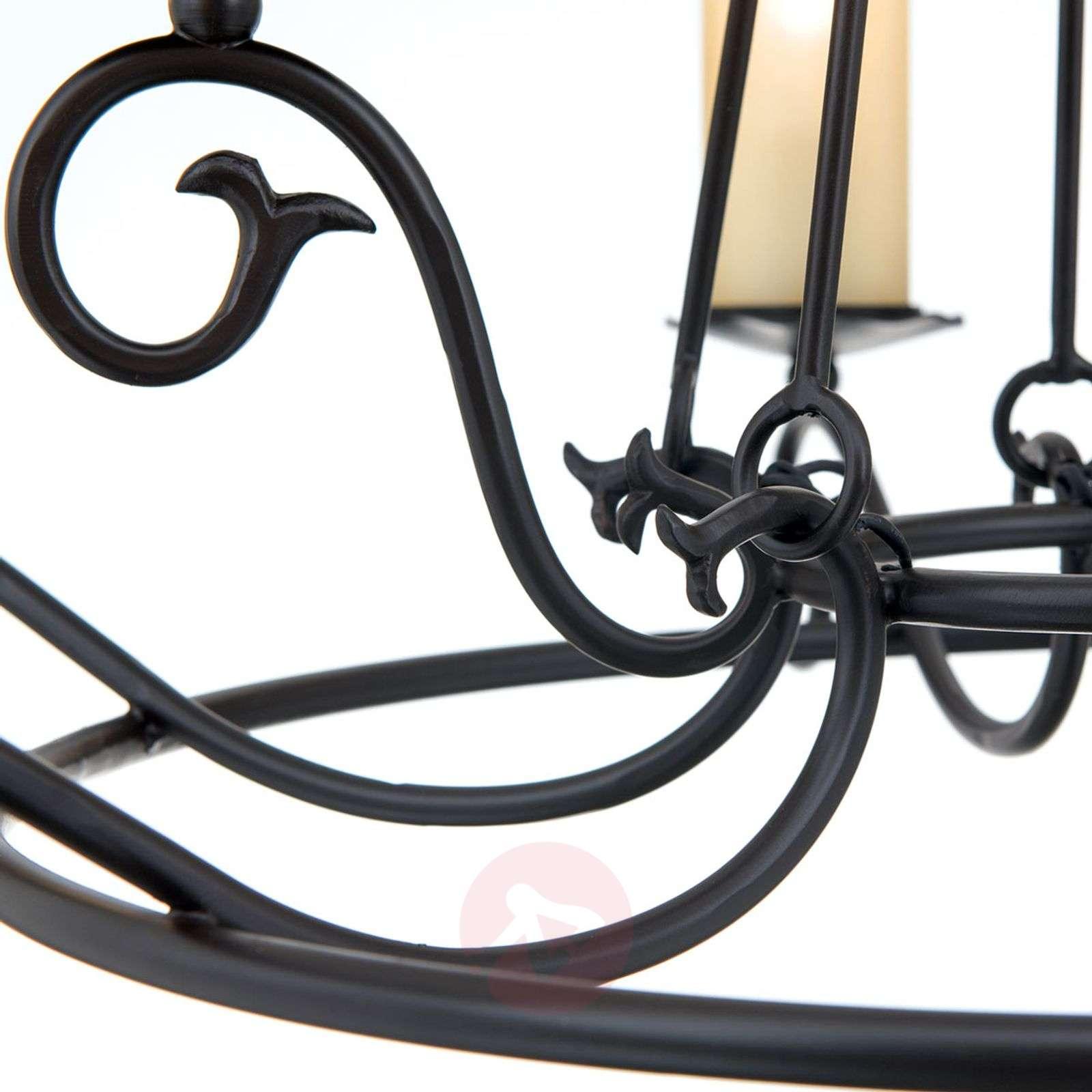 Vaikuttava kattokruunu BENE, rustiikkinen tyyli-7254274-01