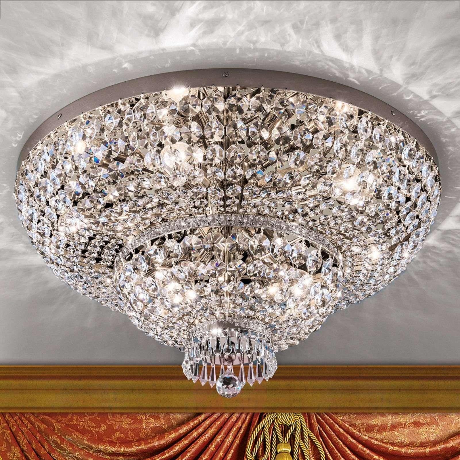 Vaikuttava kristallikattovalaisin Sheraton, kromi-7254976-01