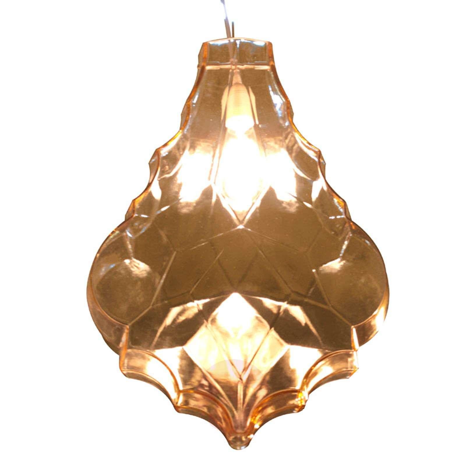 Vaikuttava lasinen riippuvalaisin 24Karati-5542001X-01