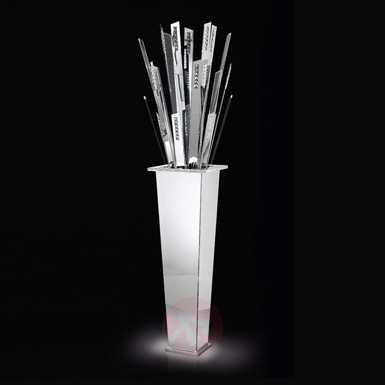 Vaikuttava LED-lattiavalaisin SKYLINE valkoinen-5016212-01