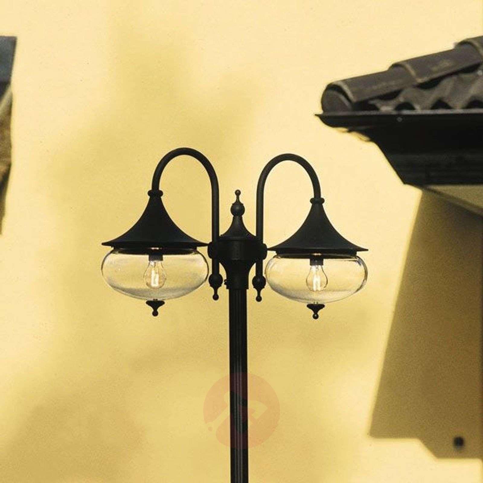 Vaikuttava lyhtypylväs LIBRA kaksilamppuinen-5522307X-01