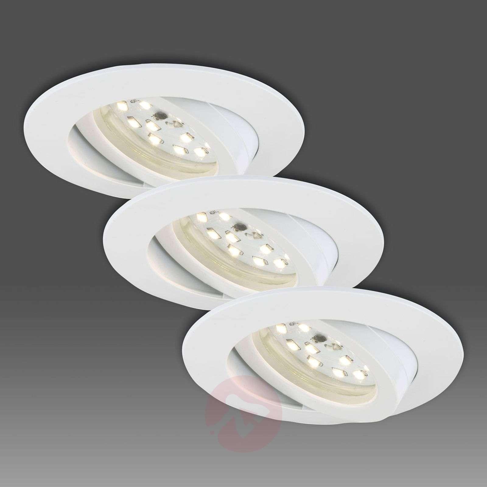 Valk. LED-uppokohdevalaisin, 3 kpl – käännettävä-1510287-01