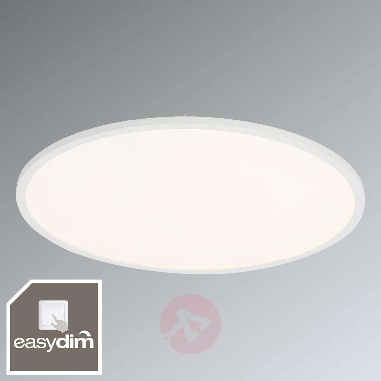 Valkoinen Ceres-LED-kattovalaisin, himmennettävä-1509145-03