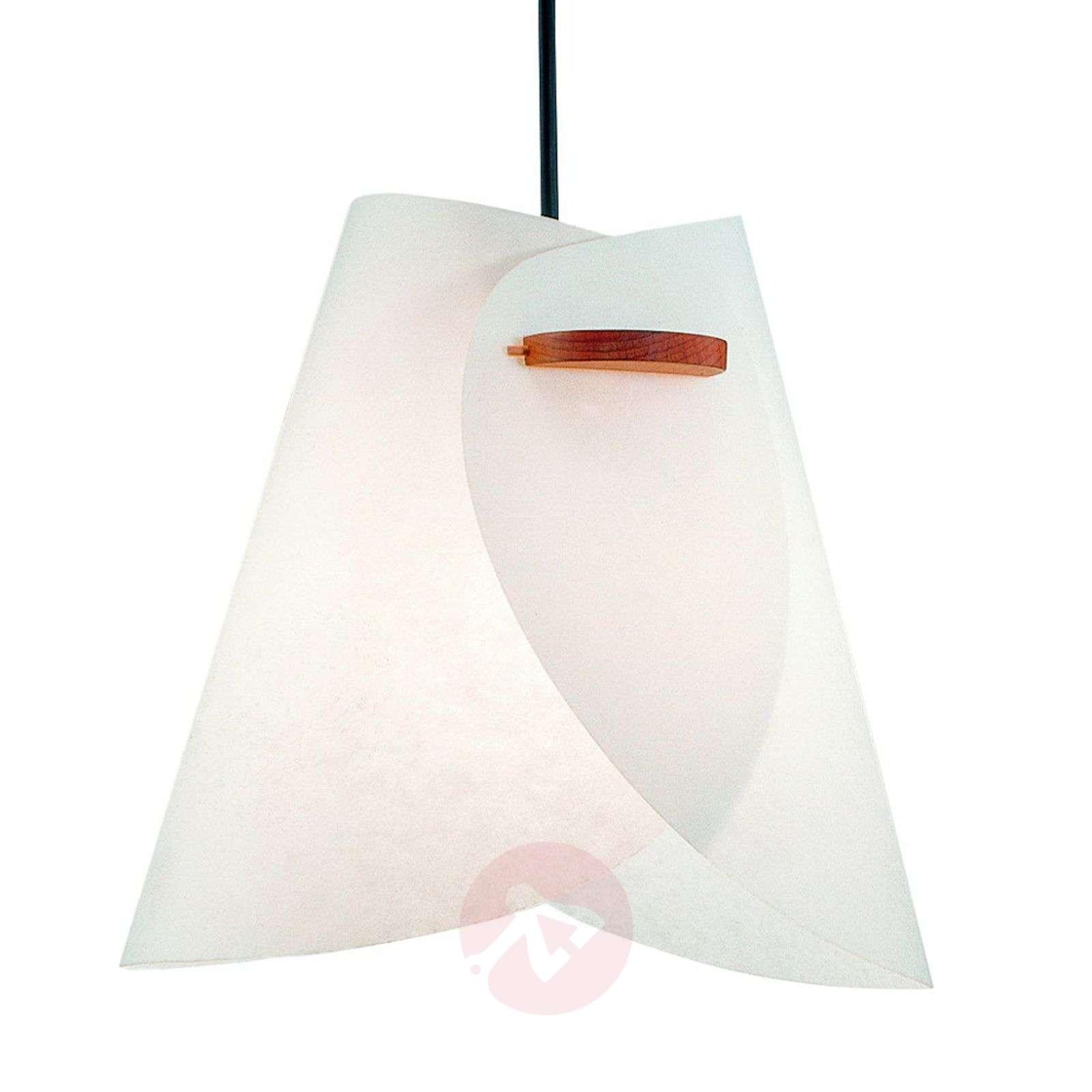 Valkoinen design-riippuvalaisin IRIS-2600151-01