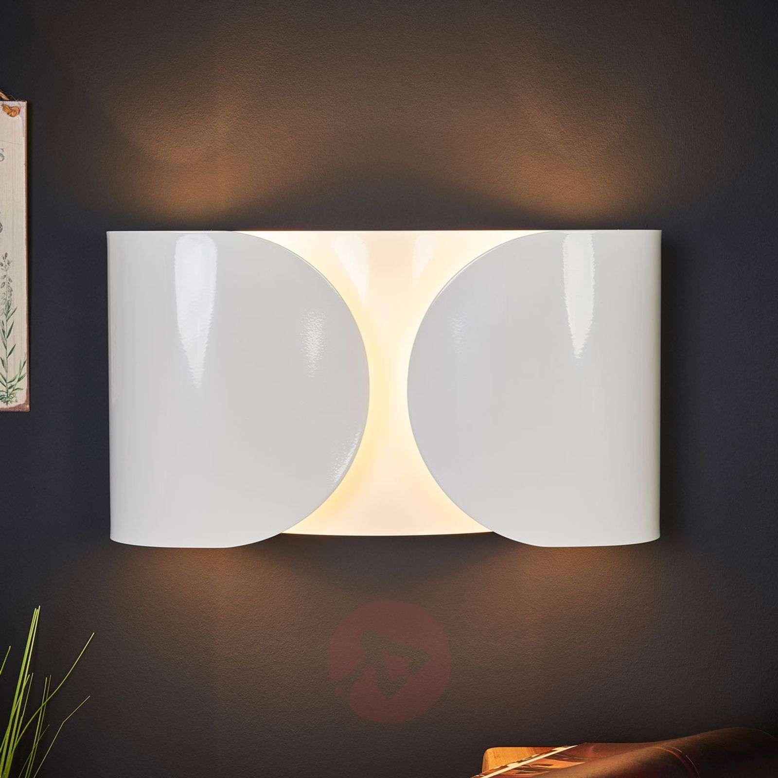Valkoinen FOGLIO-seinävalaisin FLOSilta-3510076-02