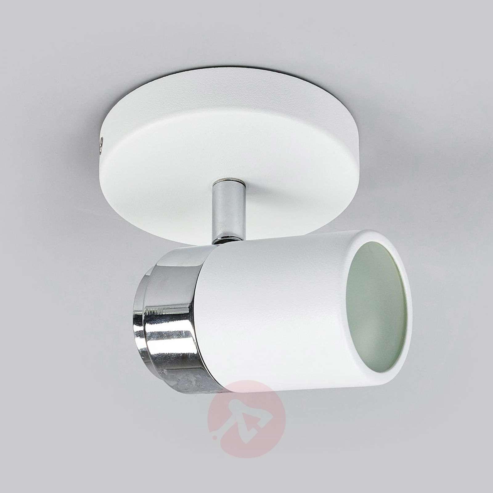 Valkoinen GU10-kohdevalaisin Kardo, IP44-9641084-04