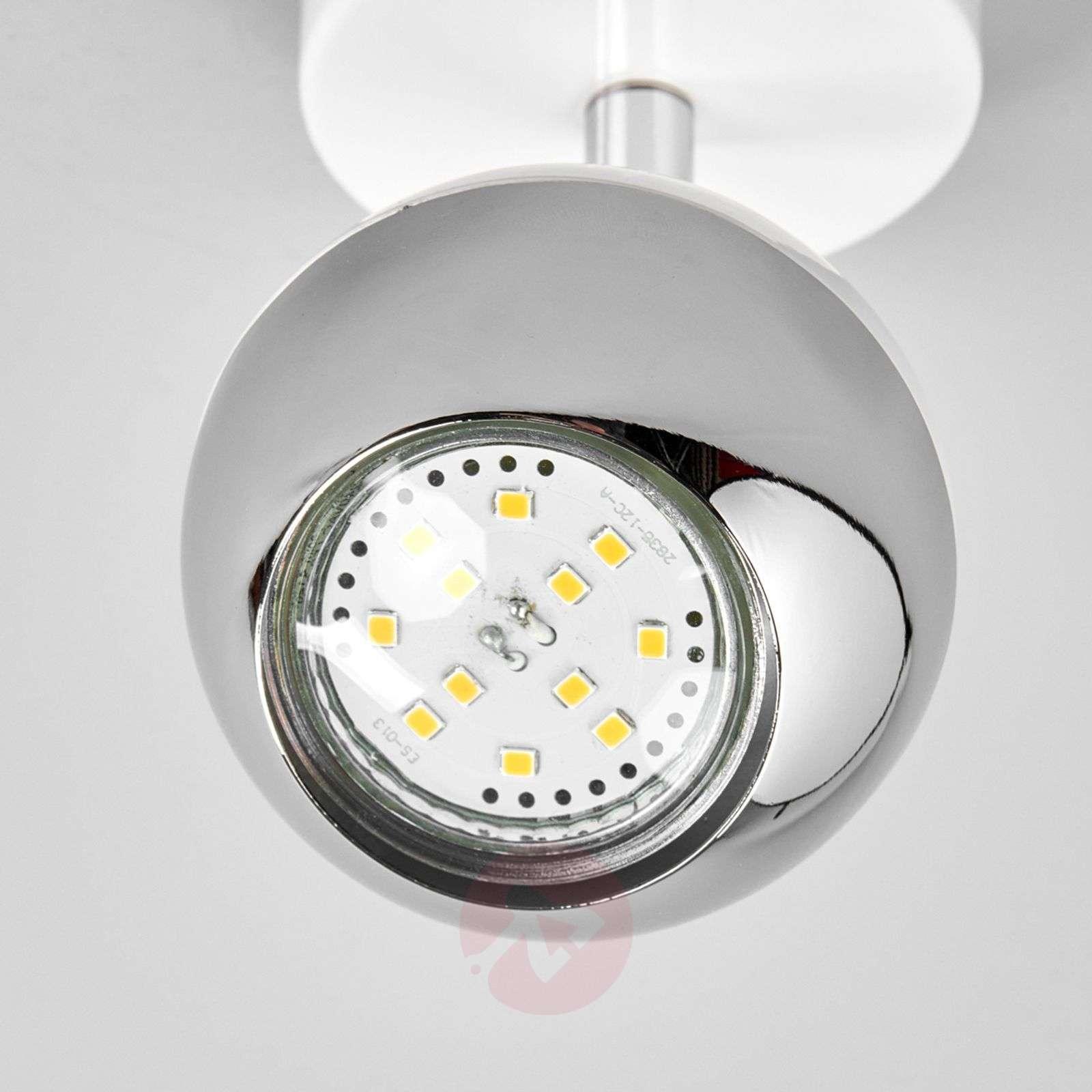 Valkoinen GU10-kohdevalo Arvin LED-lampuilla-9970110-03