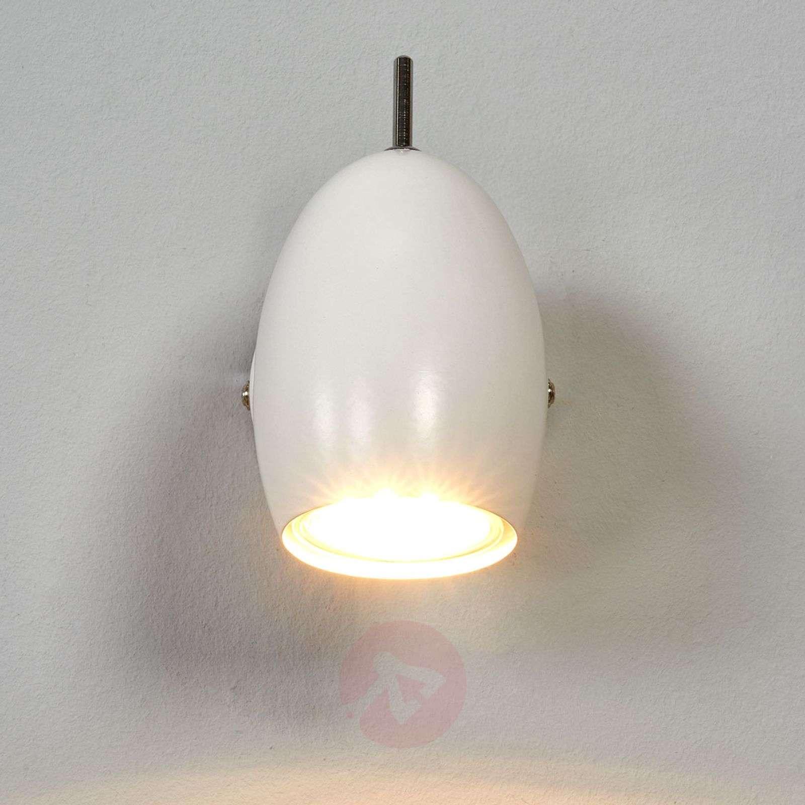 Valkoinen kohdevalo Philippa GU10-LEDillä-9970143-02