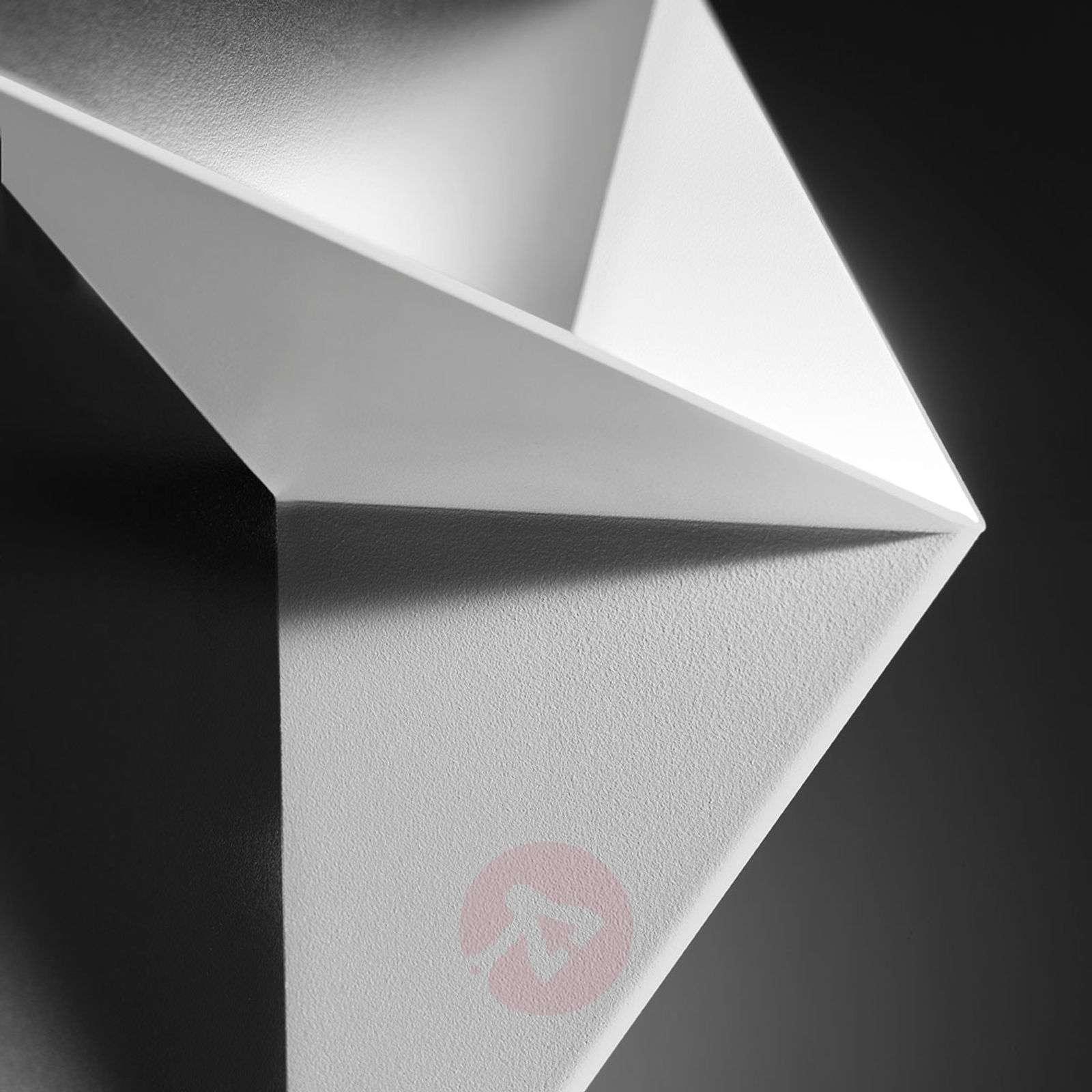 Valkoinen lakattu Vassily-seinävalaisin-1088032-01