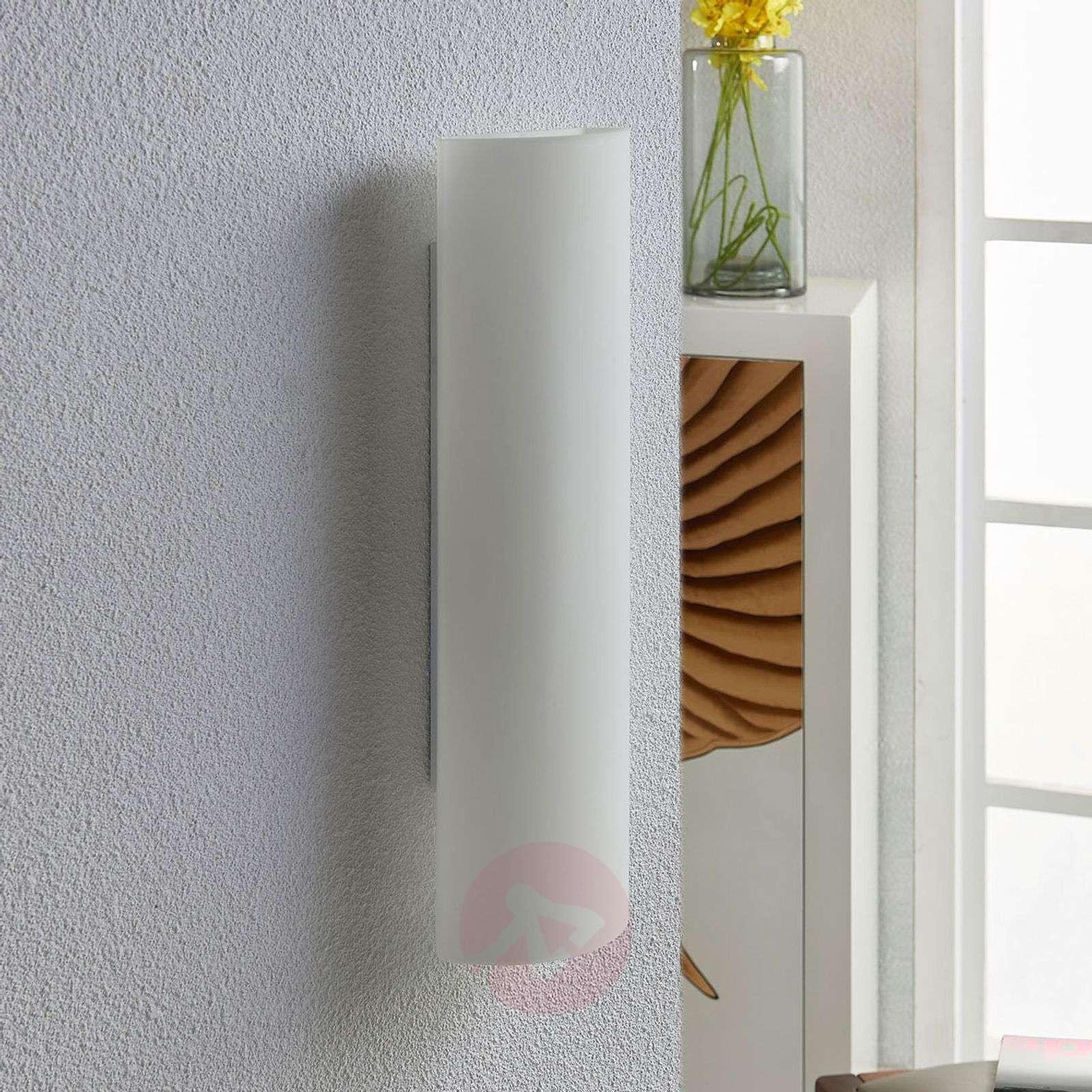 Valkoinen lasiseinävalaisin Ophelia-9621160-02