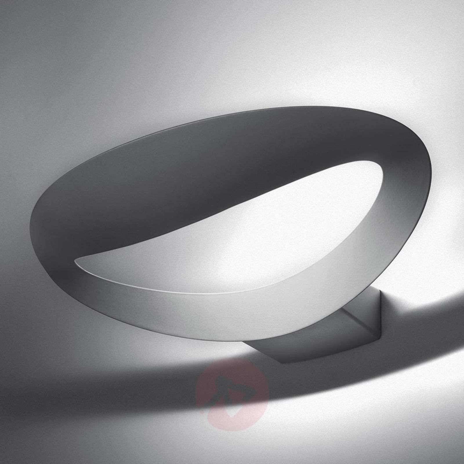 Valkoinen LED-design-seinävalaisin Mesmeri-1060010-01