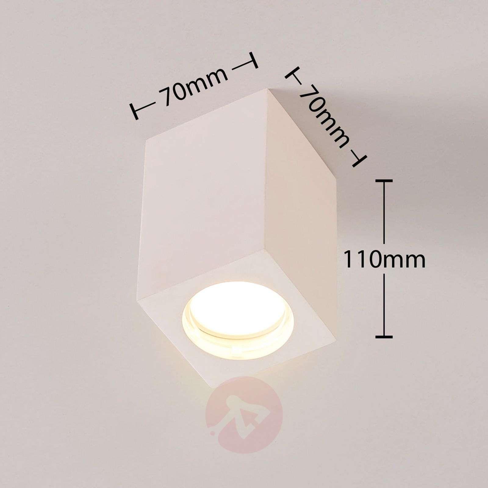 Valkoinen LED-downlight Fritzi, Easydim-tekniikka-9621325-012