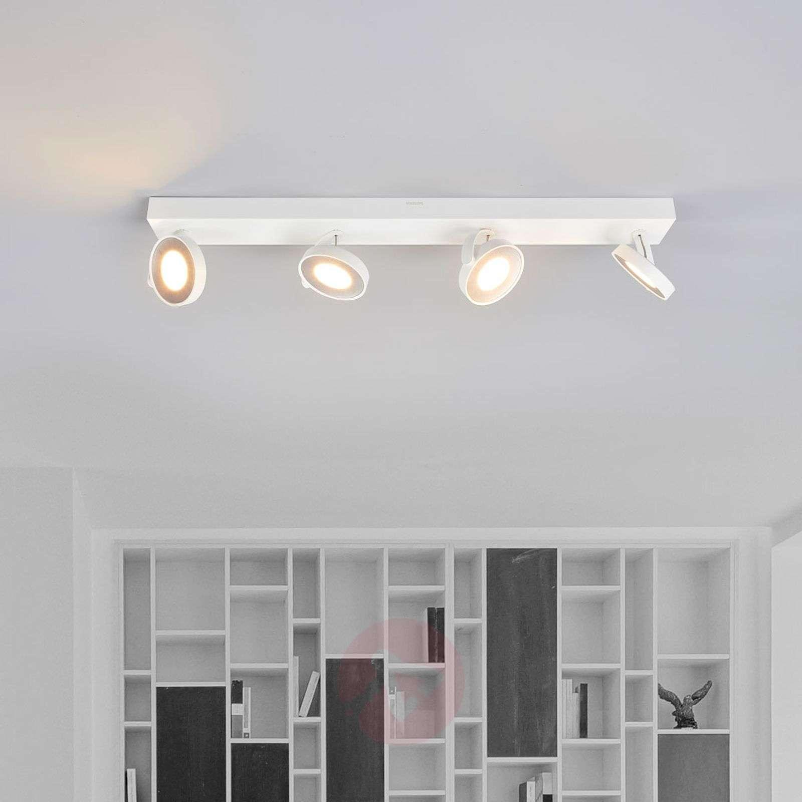 Valkoinen LED-kattokohdevalo Clockwork-7531737-01