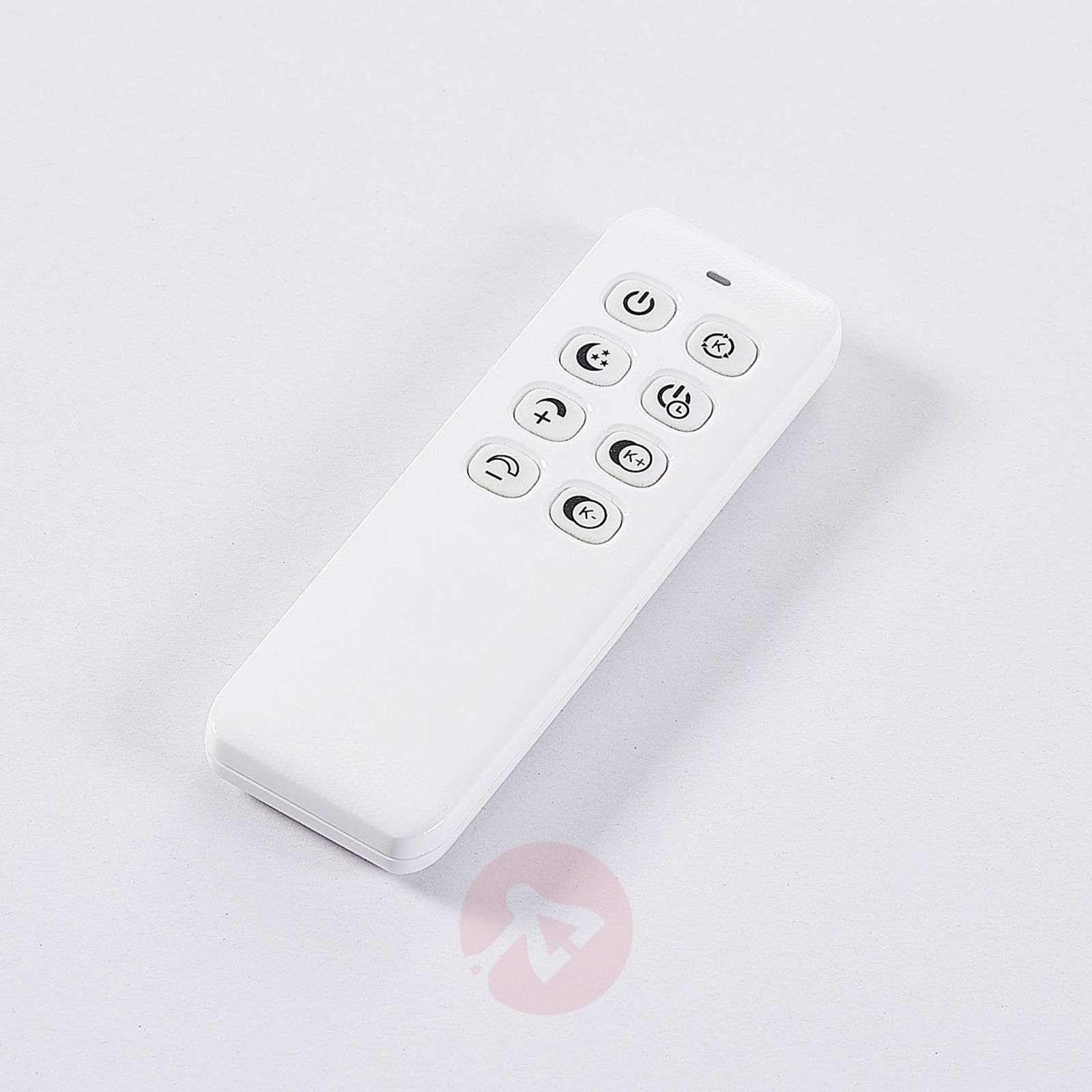 Valkoinen LED-kattovalaisin Lysander, himmennys-9621560-01