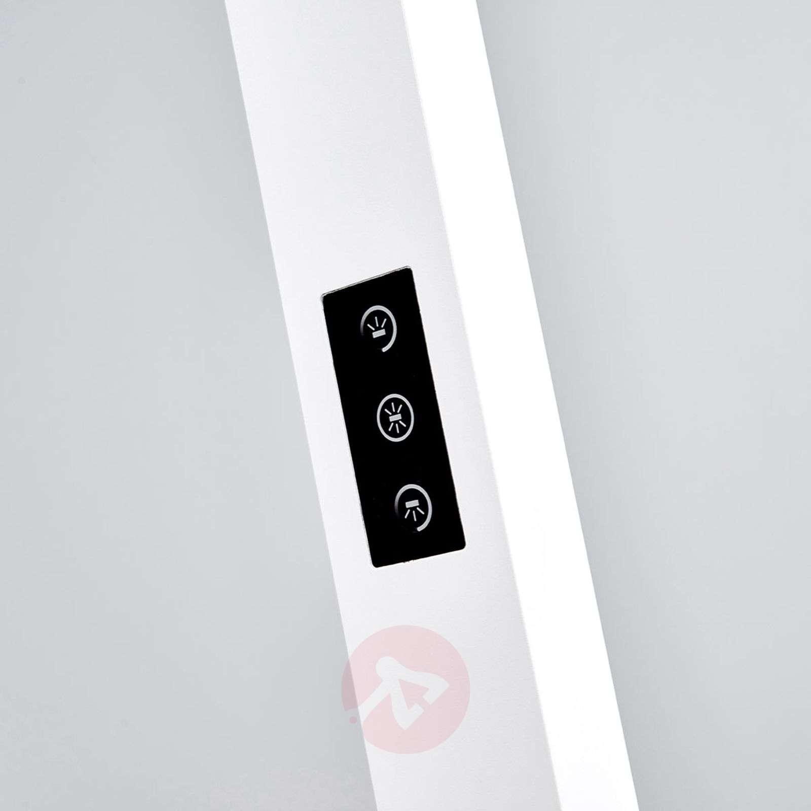 Valkoinen LED-lattiavalaisin Jolinda