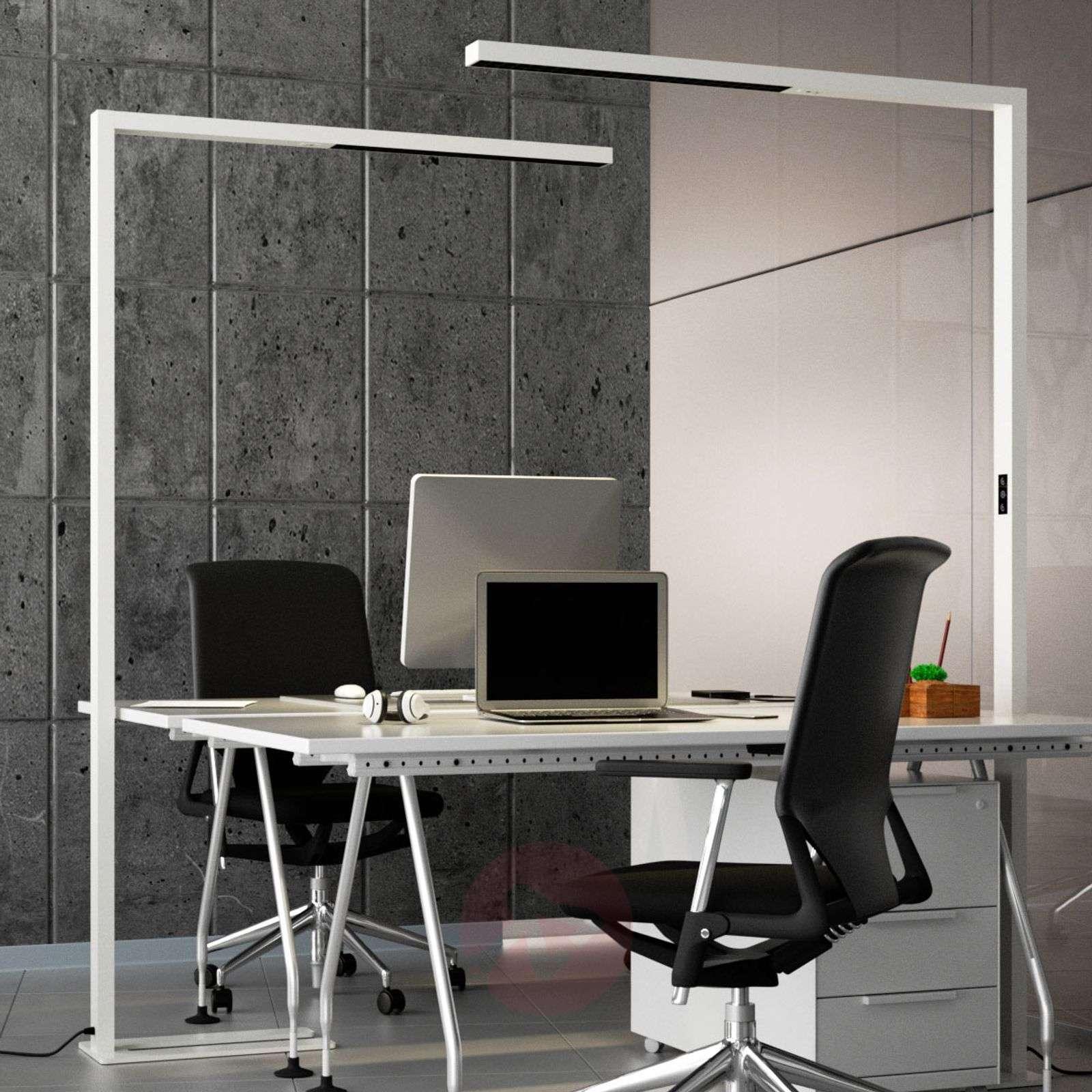 Valkoinen LED-lattiavalaisin Jolinda-9968023-023