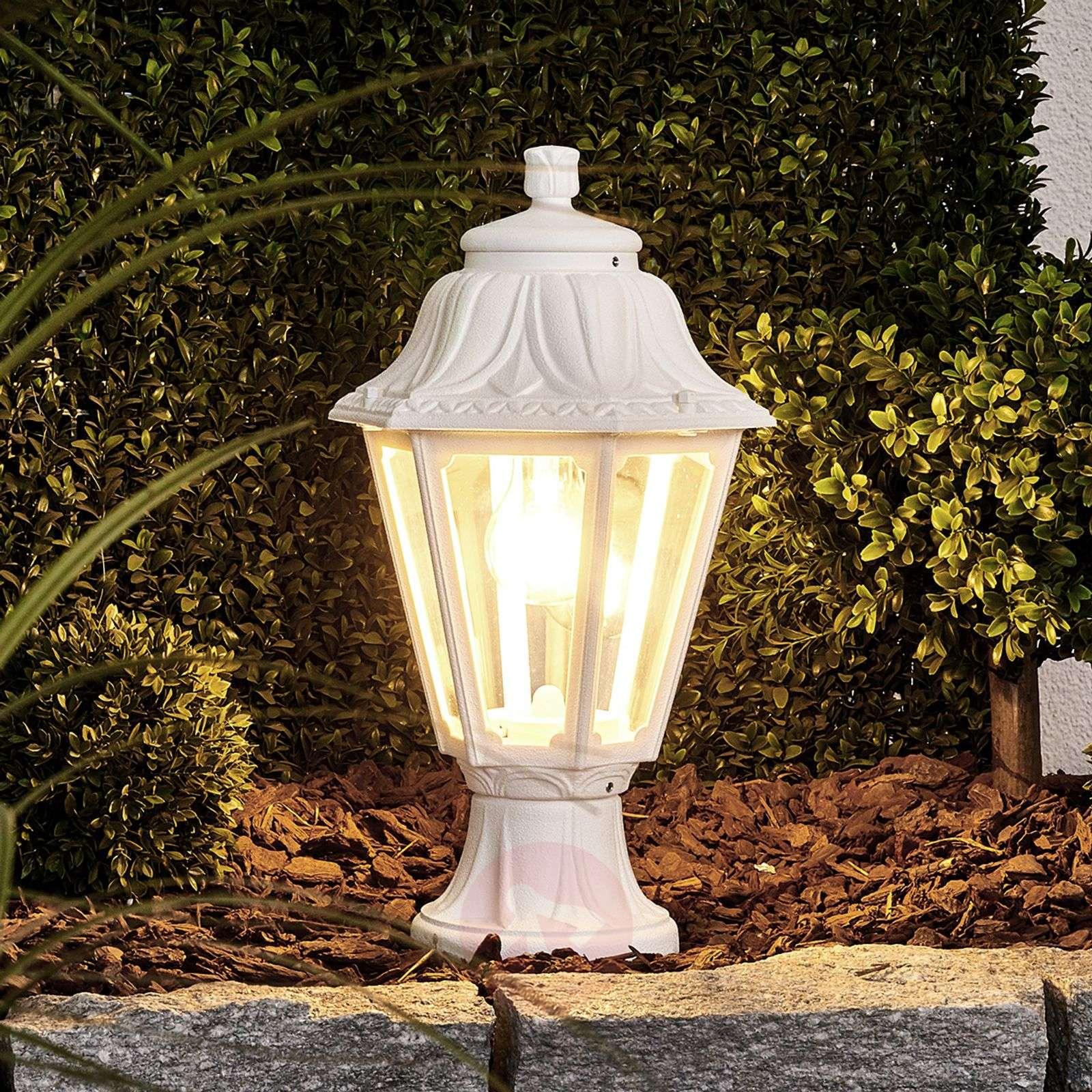 Valkoinen LED-pollarivalaisin Mikrolot Anna E27-3538049-01