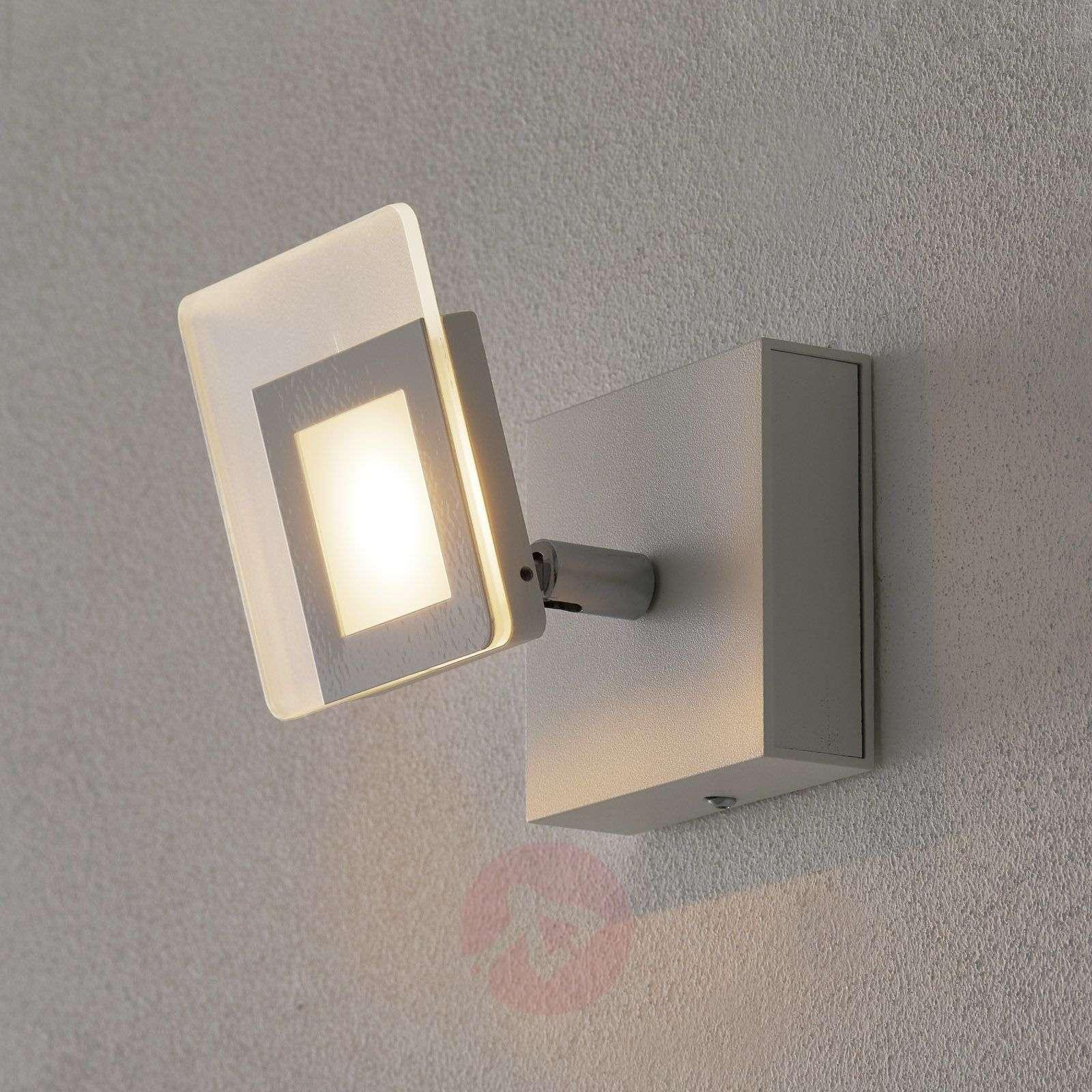 Valkoinen LED-seinäspotti Line-1556073-01