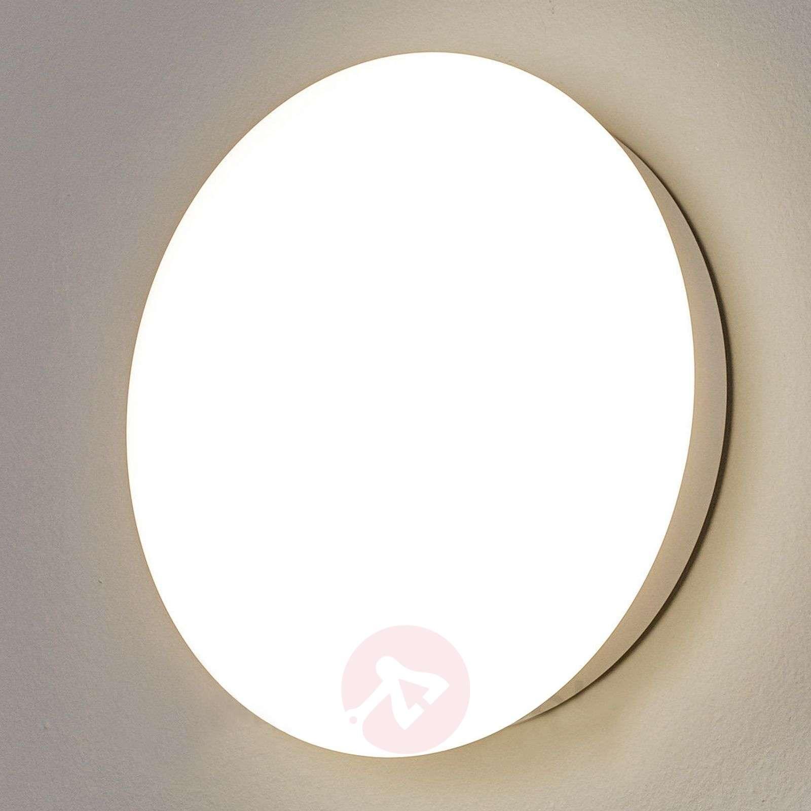 Valkoinen LED-seinävalaisin Sun 12-1018296X-01