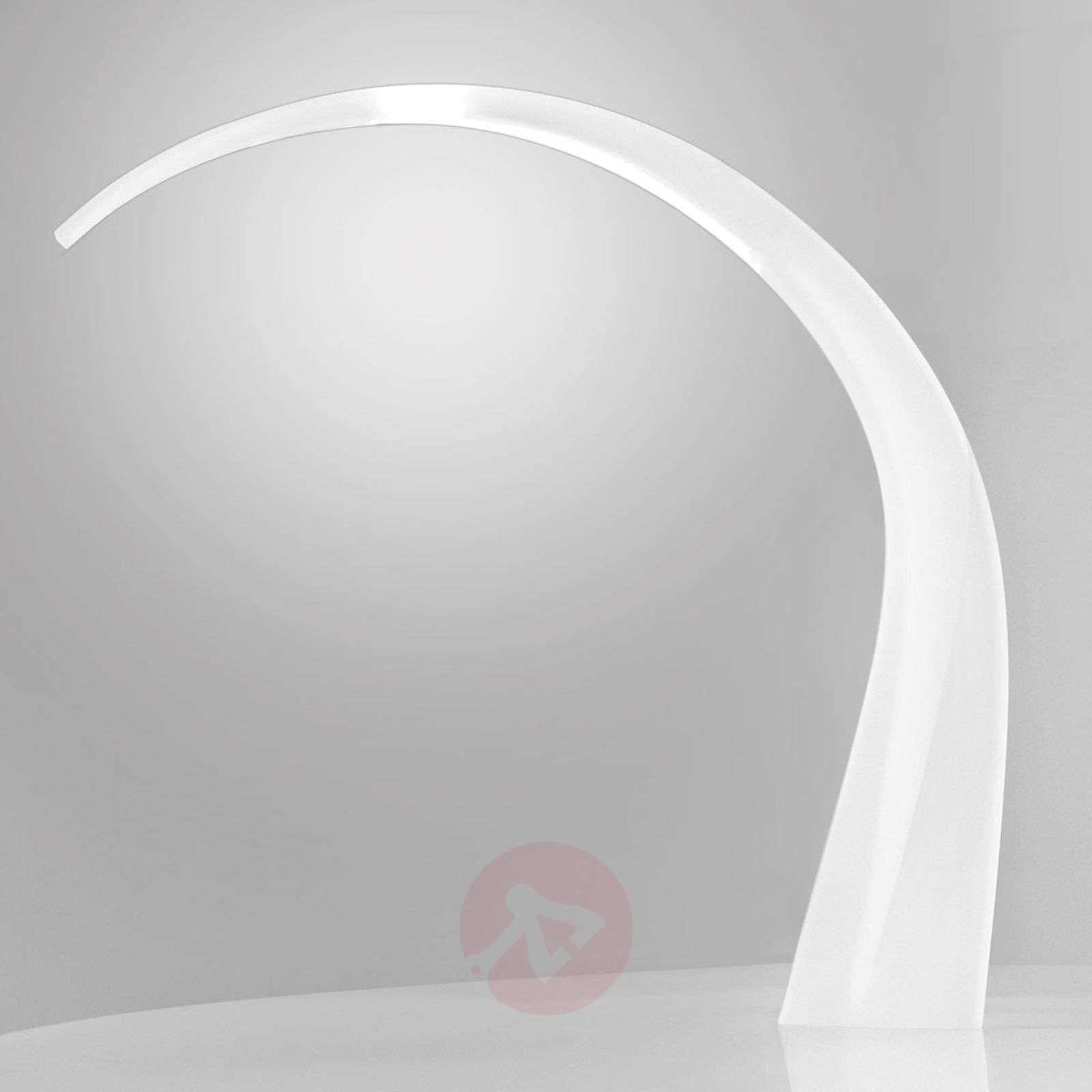 Valkoinen LED-työpöytävalaisin Taj-5541039-01