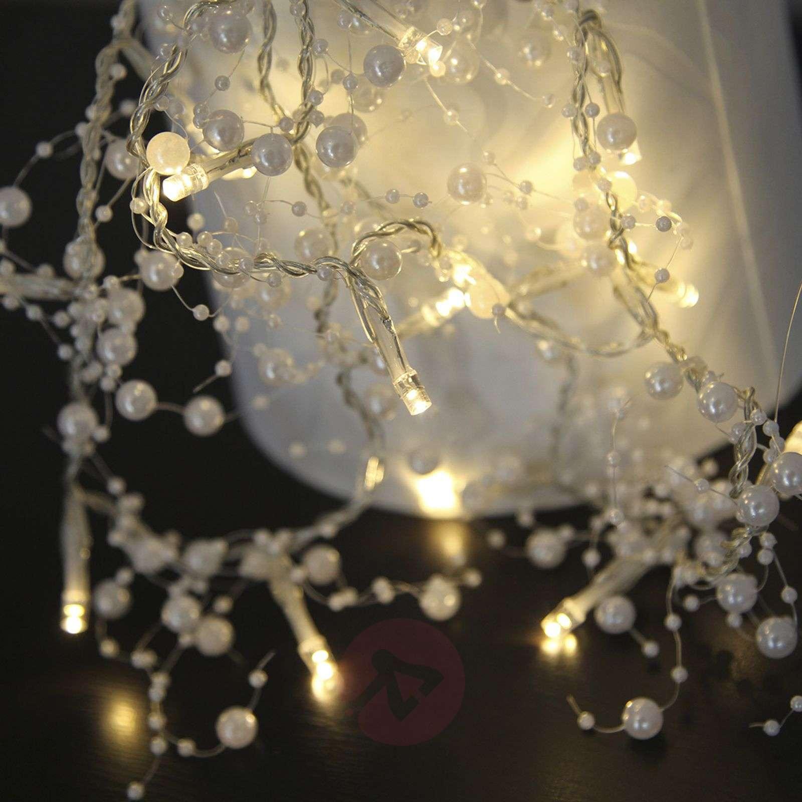 Valkoinen LED-valosarja Pärla Garland-1522664-02
