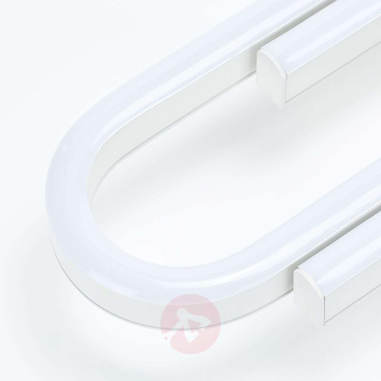 Valkoinen, pitudeltaan sääd. LED-kattolamppu Marga-8032176-02