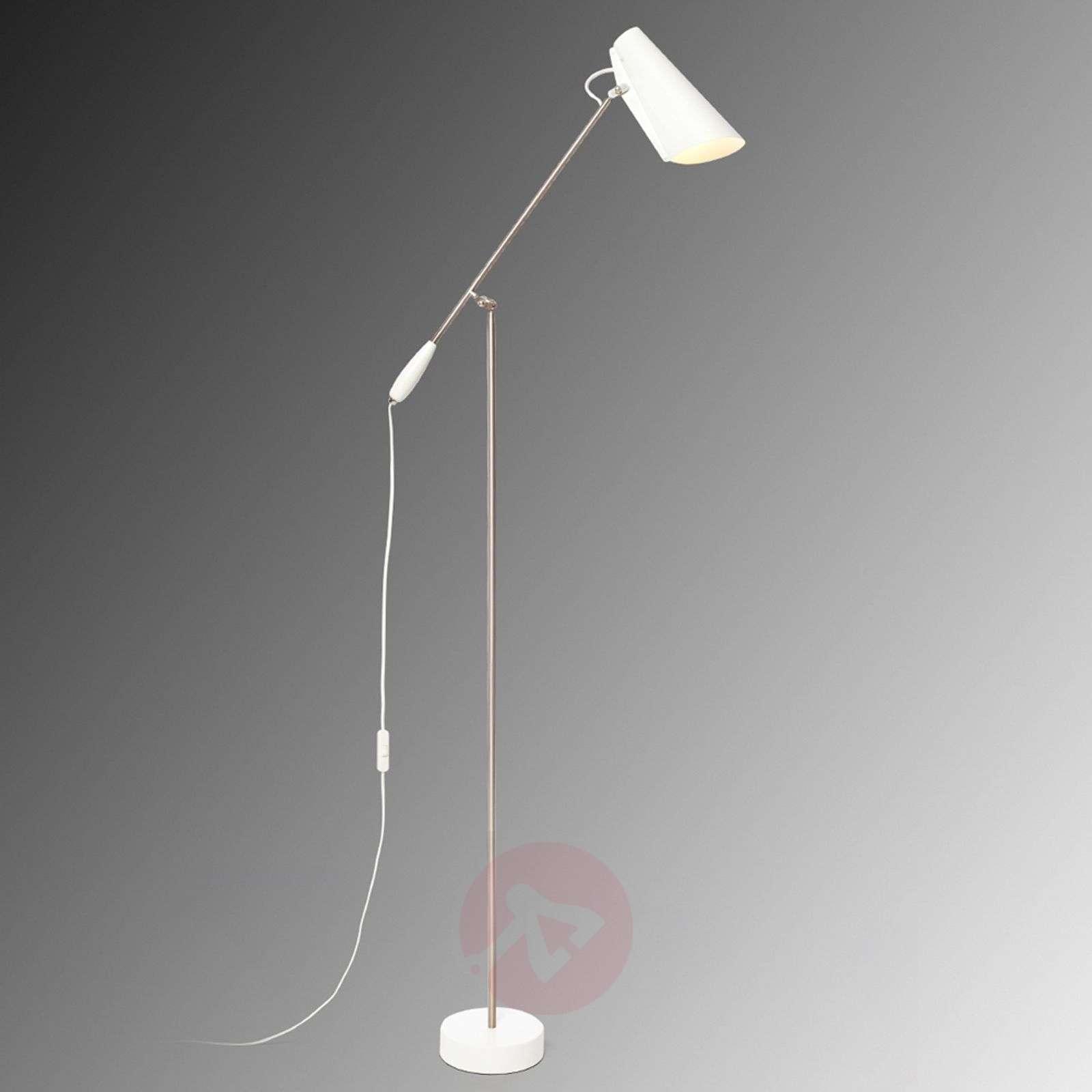 Valkoinen retrolattiavalaisin Birdy-7013050-01