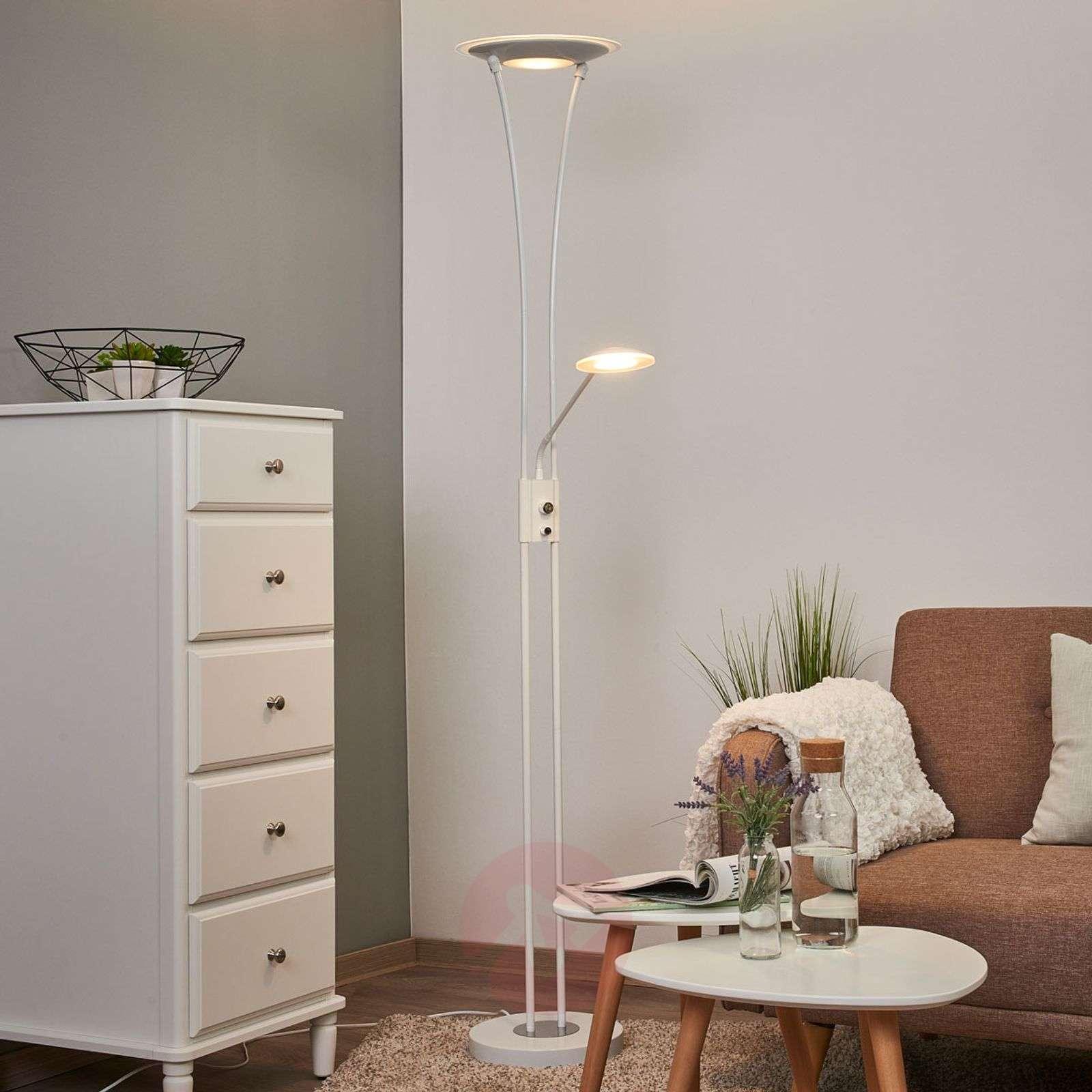 Valkoinen ylössuunnattu LED-valaisin Eda-9945229-01