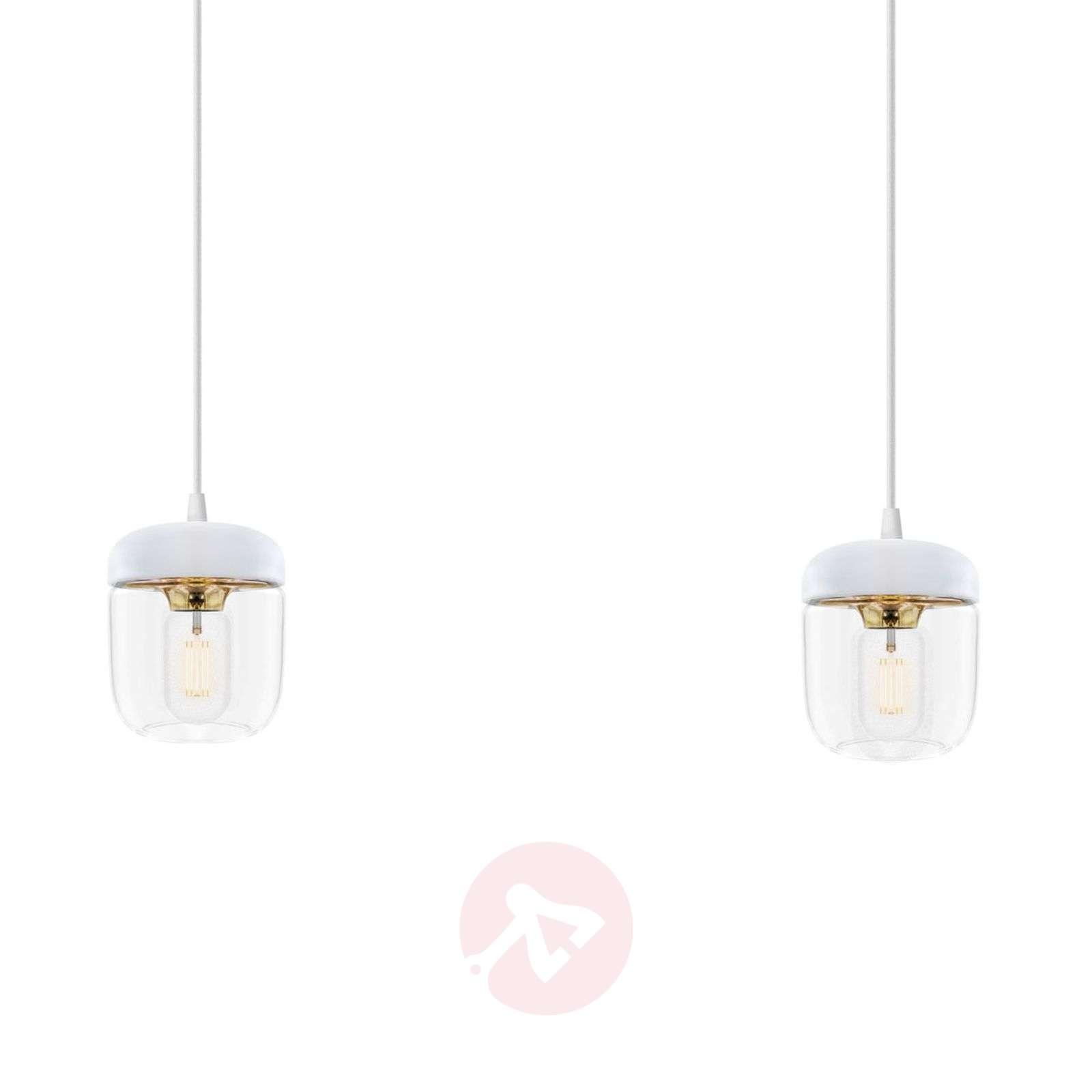 Valkoista ja messinkiä – riippuvalaisin Acorn 2-os-9521085-01