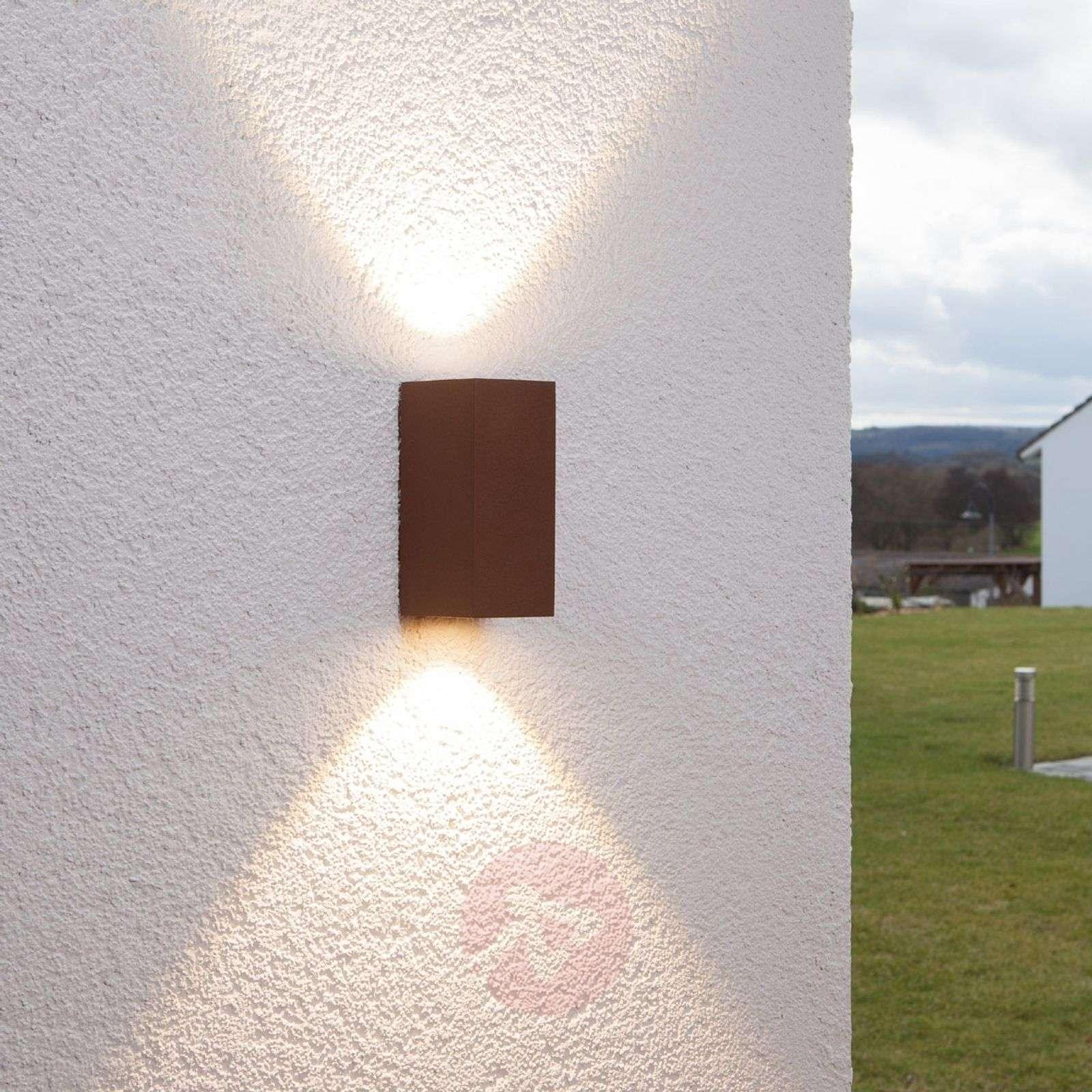 Valoisa Tavi-LED-ulkoseinävalaisin punaruskea-9616012-01