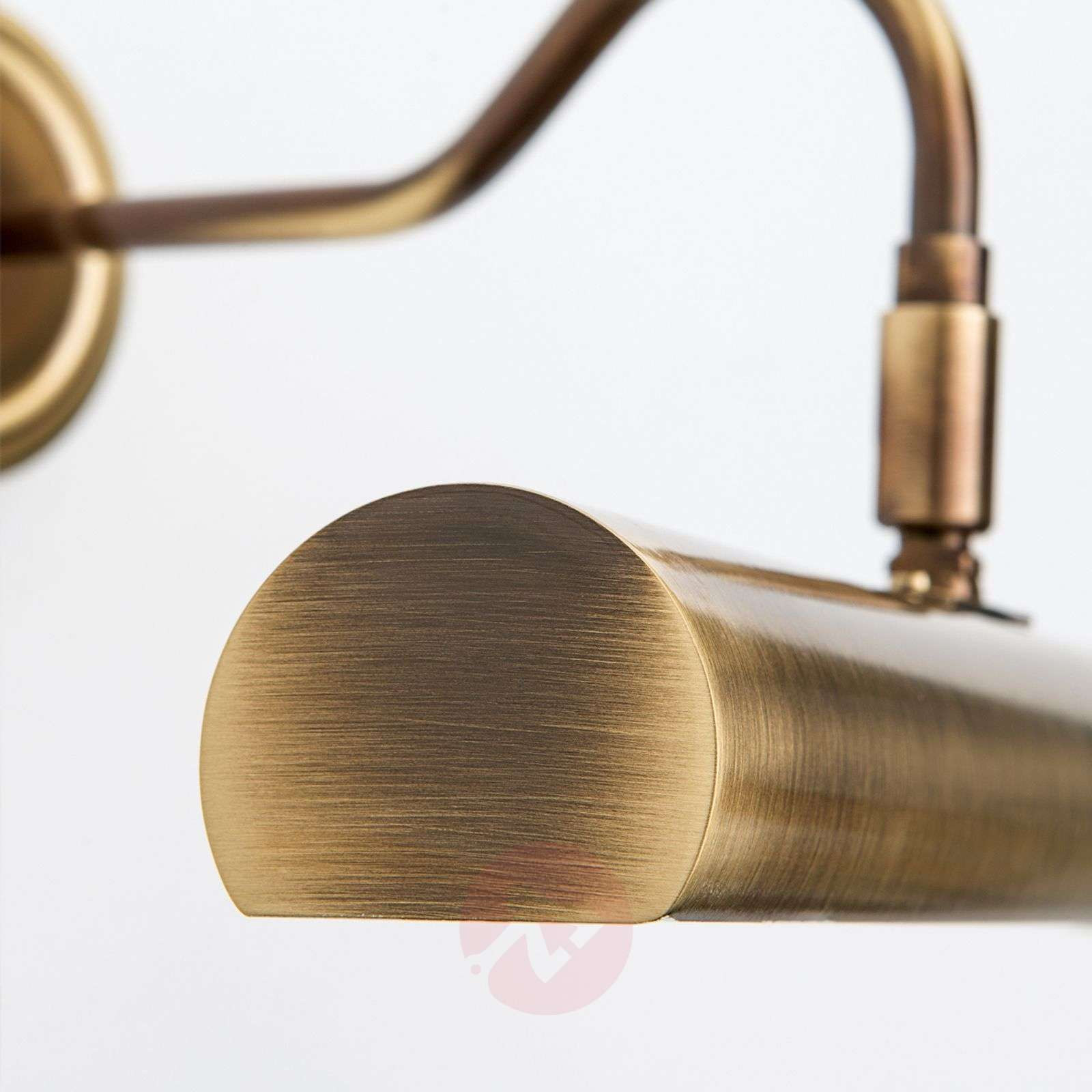 Vanhamessingin värinen Lariga-tauluvalaisin 35 cm-7255009-02