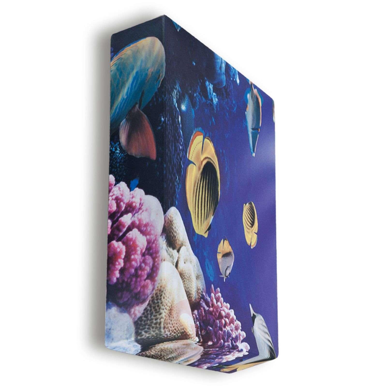 Vedenalainen maailma Flo-kattovalaisin, 60 cm-1069024-01
