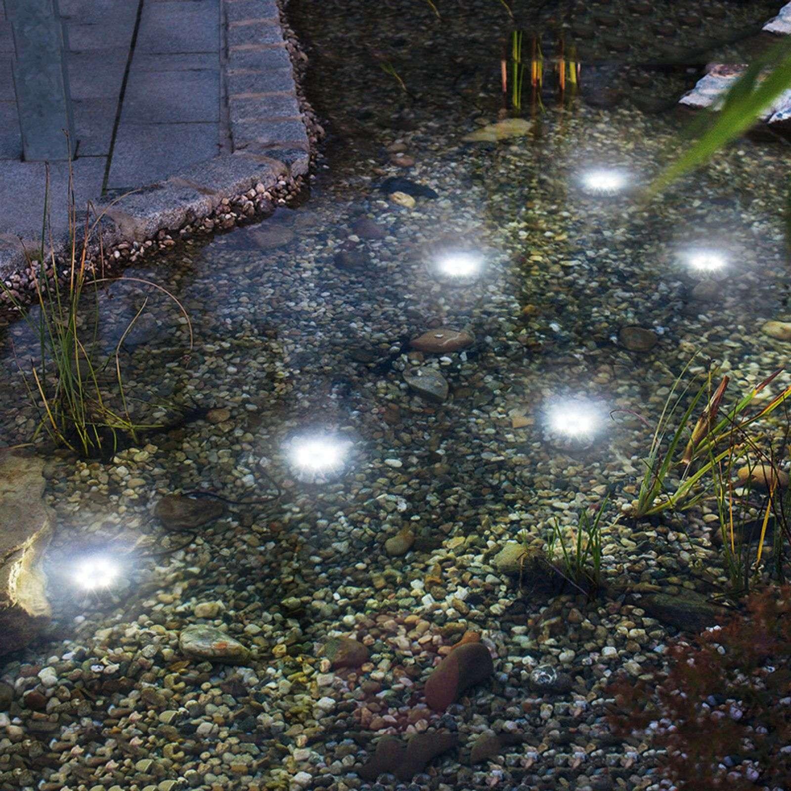 Vedenalainen Super Splash-spotti aurinkokenno LED-3012522-01