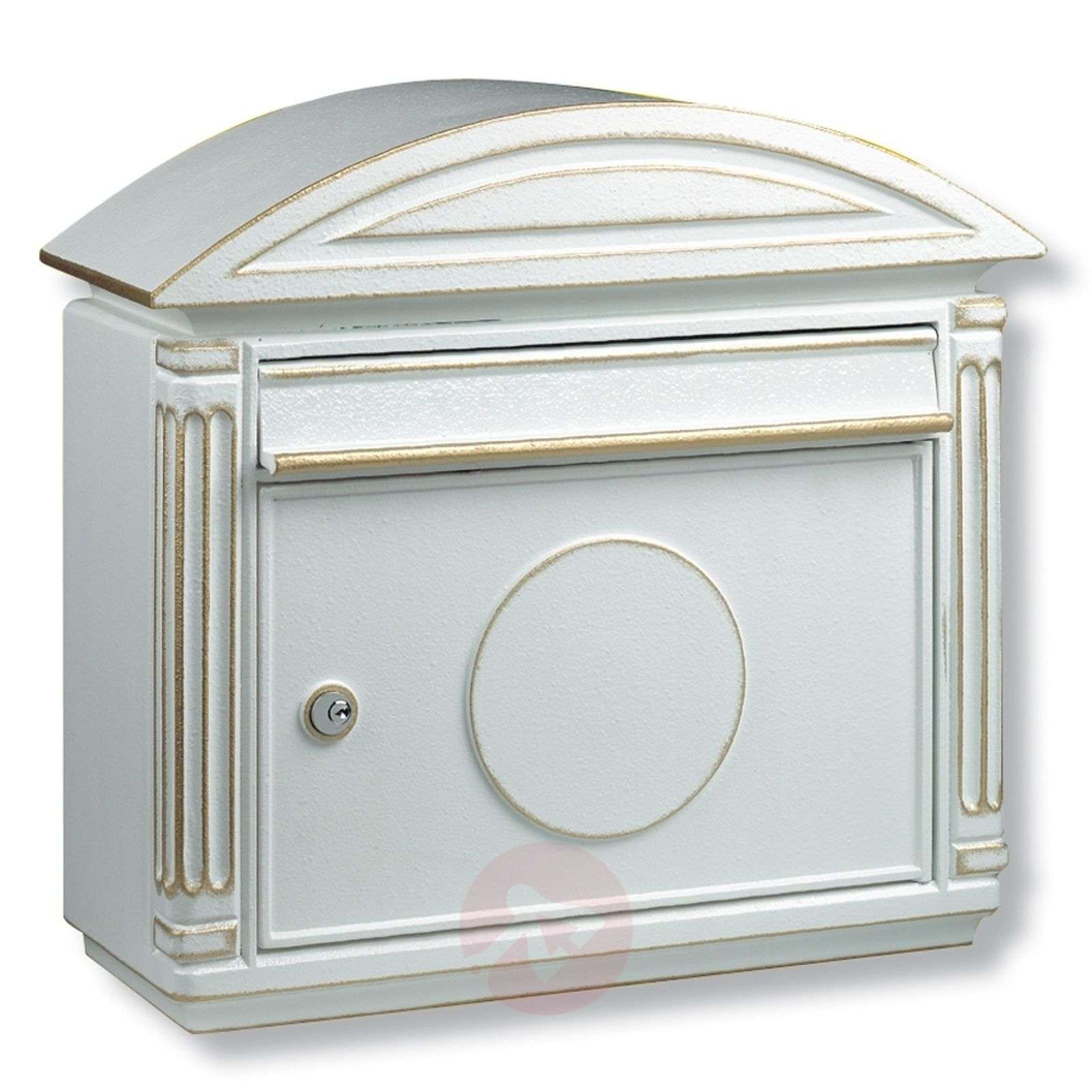 Venezia-postilaatikko painevalualumiinia, valk.-1532047-01