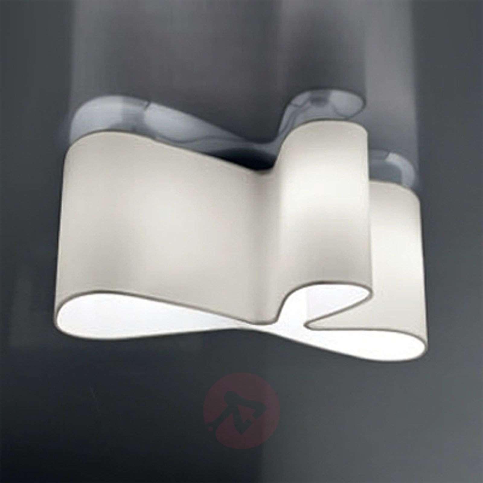 Viehättävä design-kattovalaisin Mugello, valkoinen-8513012-01